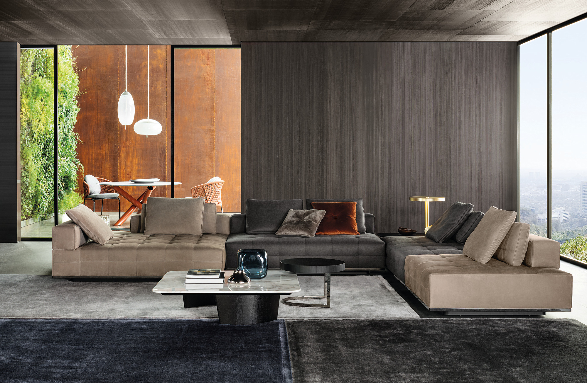 Lawrence Clan Lawrence Collection By Minotti