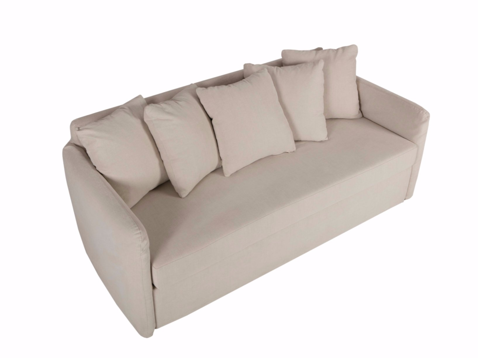Upholstered 3 seater fabric sofa bed LOTTA By SITS