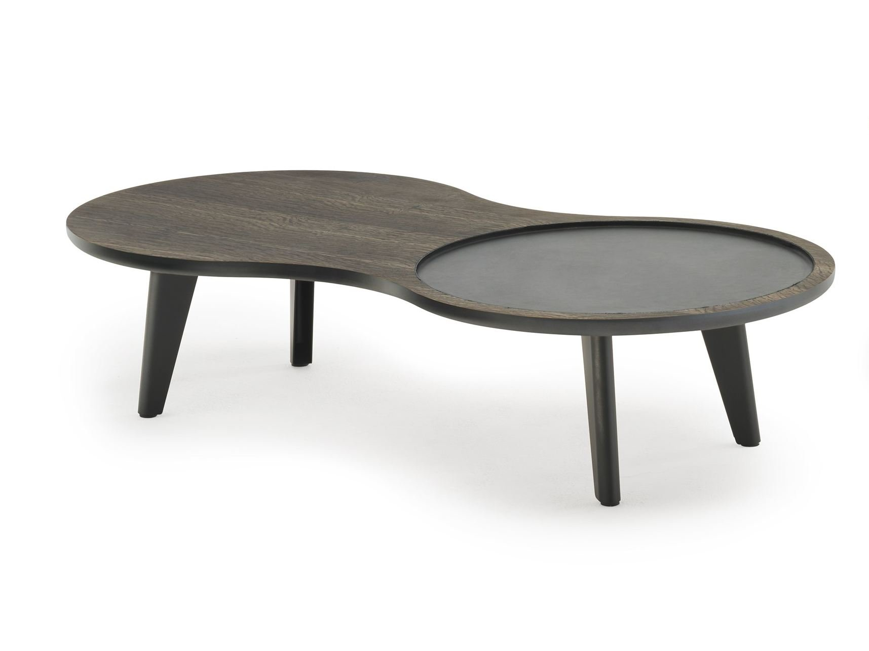 Stackable wooden coffee table STACK By Living Divani design Nathan