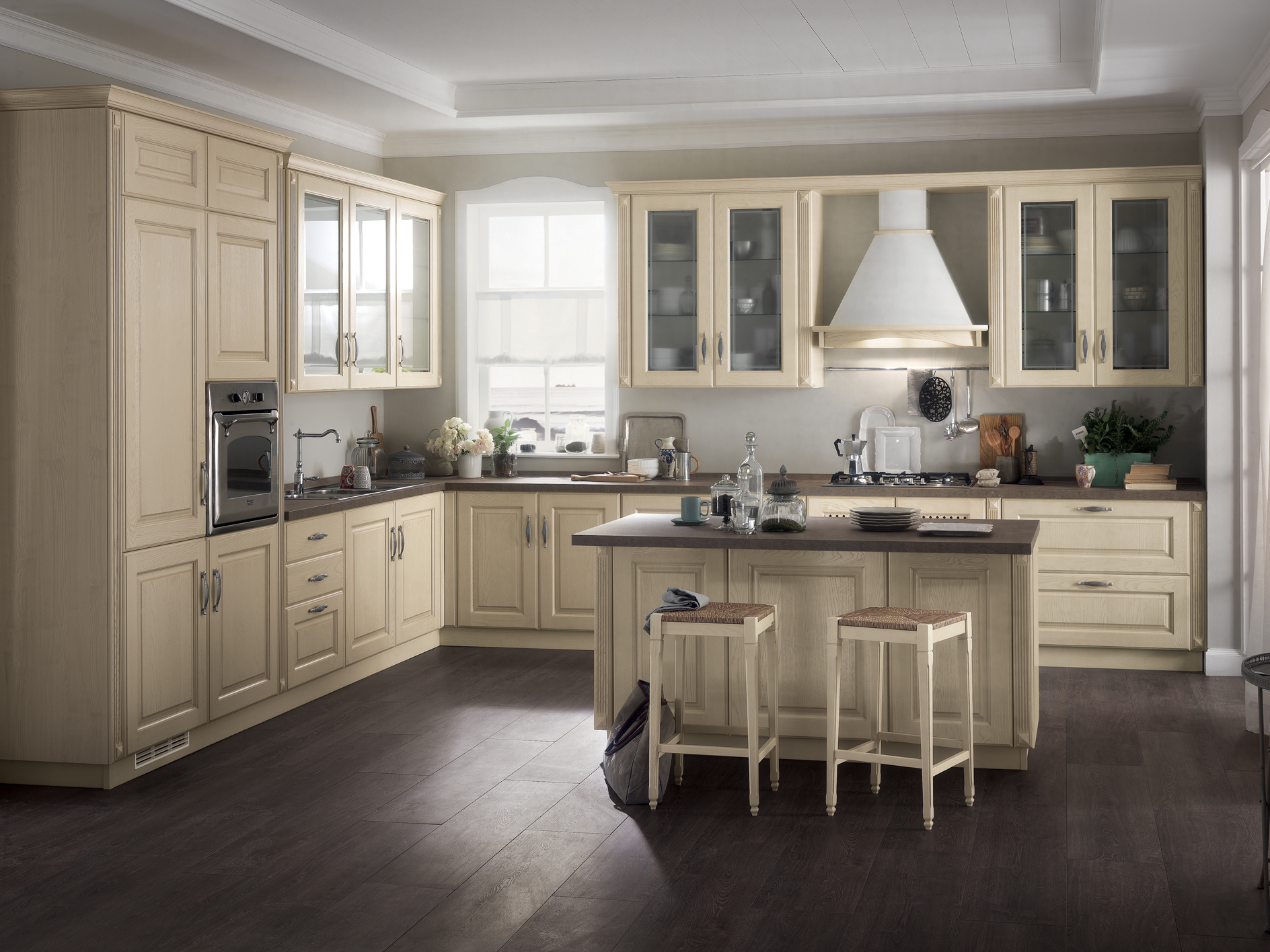Fitted kitchen HIGHLAND Scavolini Easy Line By Scavolini