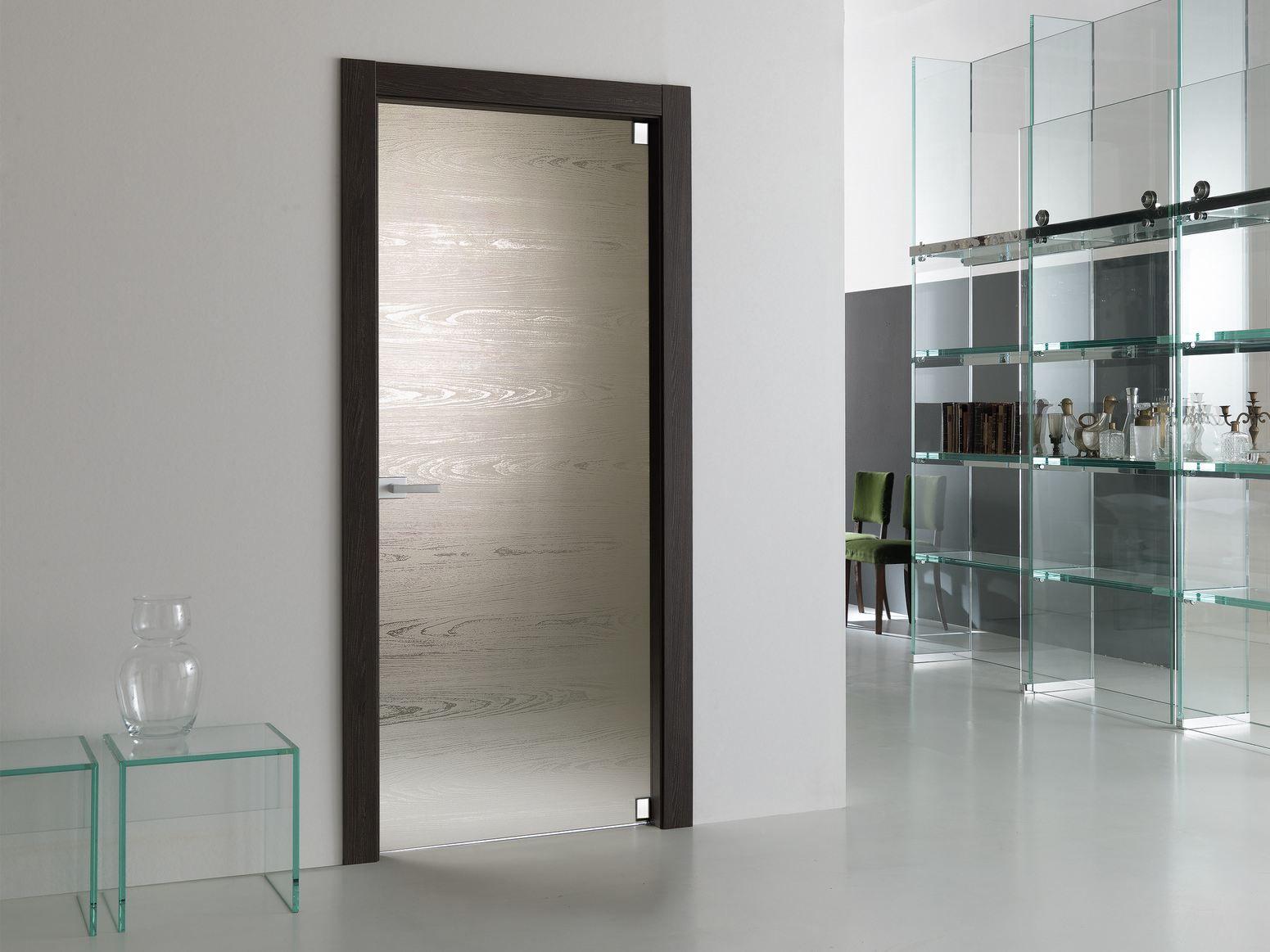 Materik porta in vetro collezione materik by bertolotto for Porte a battente