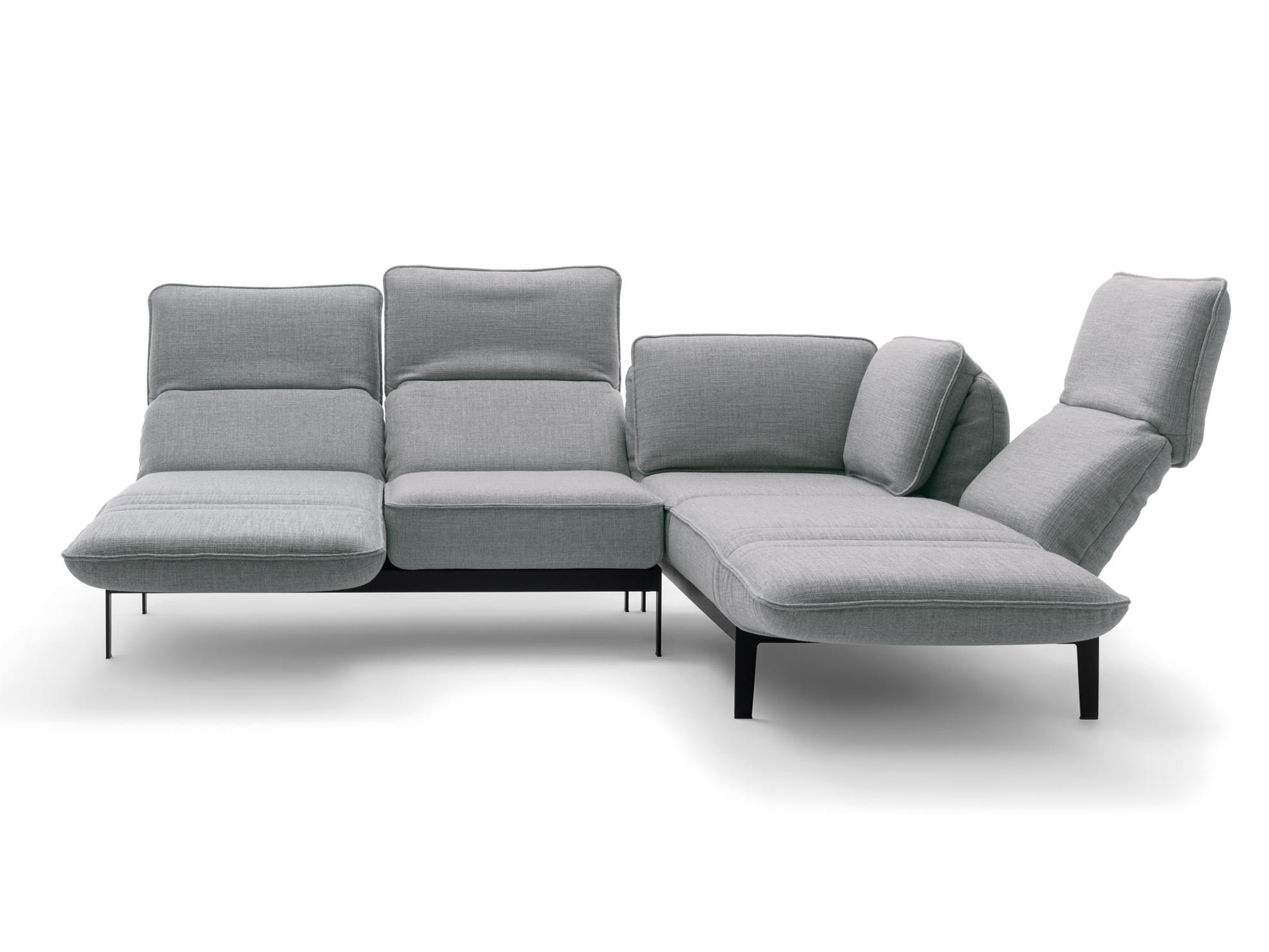 Mera corner sofa mera collection by rolf benz design for Sofa benz rolf