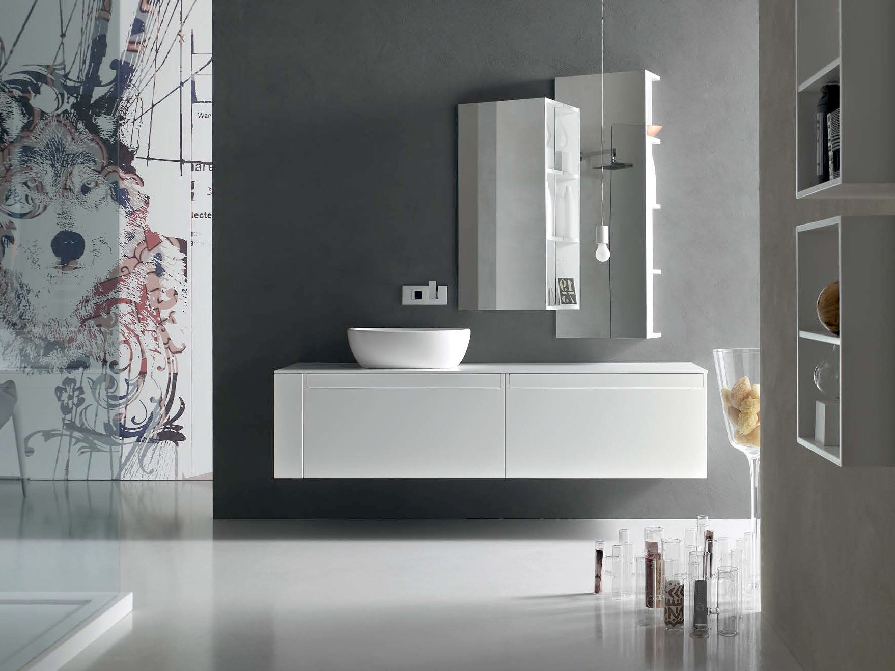 Awesome Bathroom Cabinet / Vanity Unit META   COMPOSITION 3 Meta Collection By Arcom