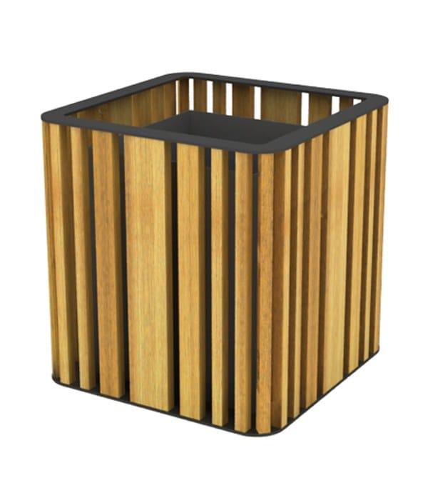 top ral 7016 - natural wood