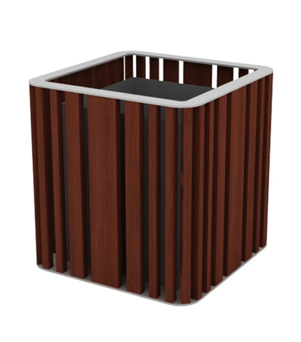 top ral 9006 - iroko wood