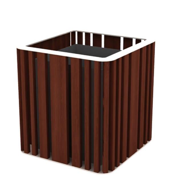 top ral 9010 - iroko wood