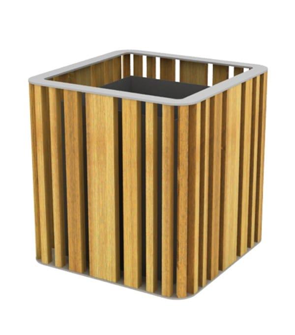 top ral 9006 - natural wood