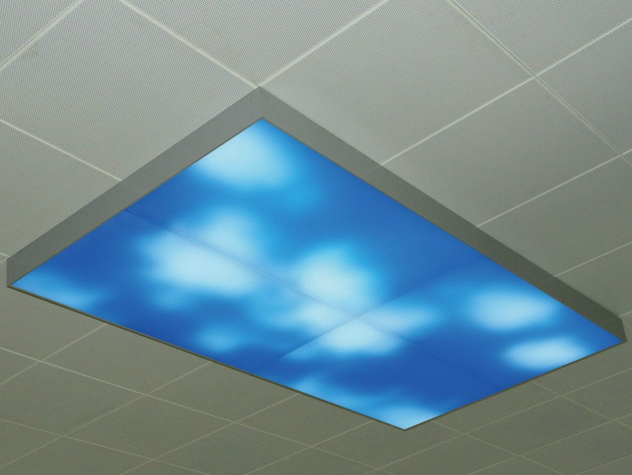 Moving sky led lighting panel ceiling light by neonny dailygadgetfo Image collections