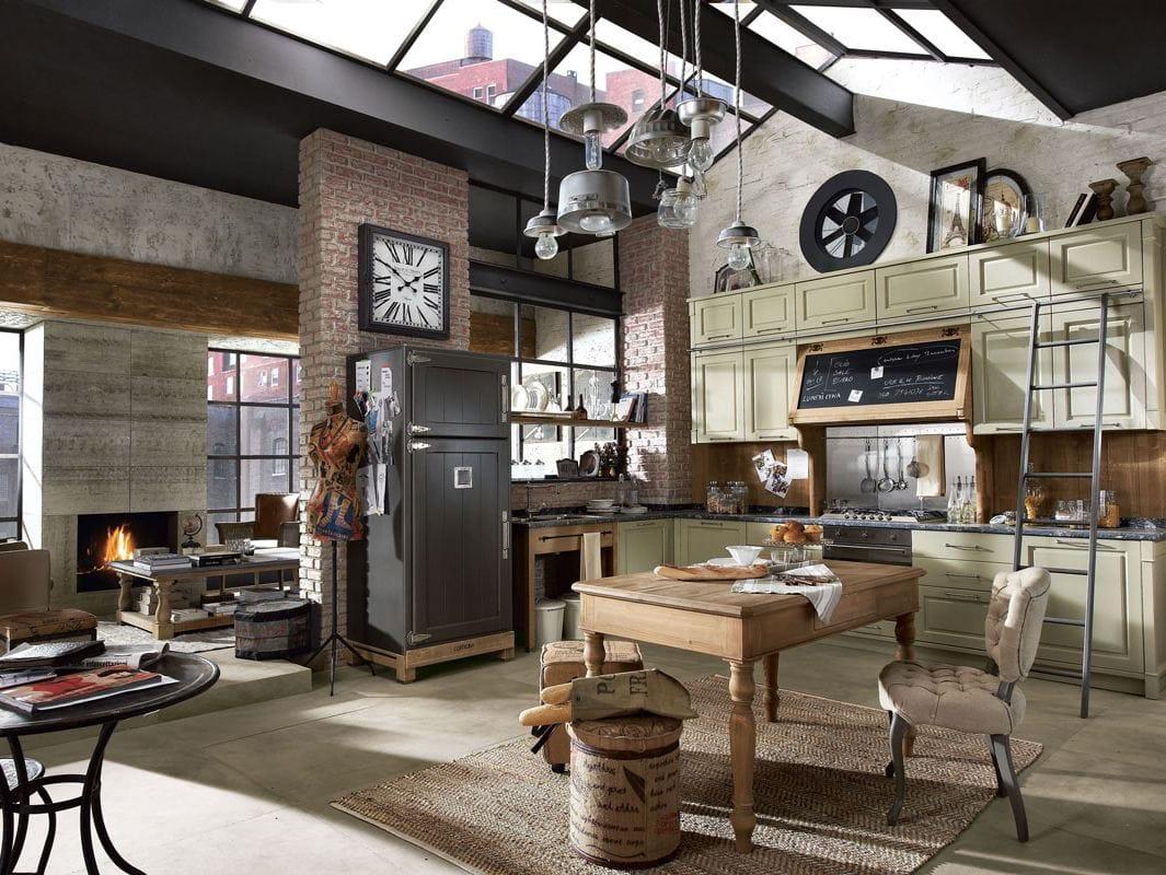 Cucina componibile laccata KREOLA - COMPOSIZIONE 03 Collezione ...