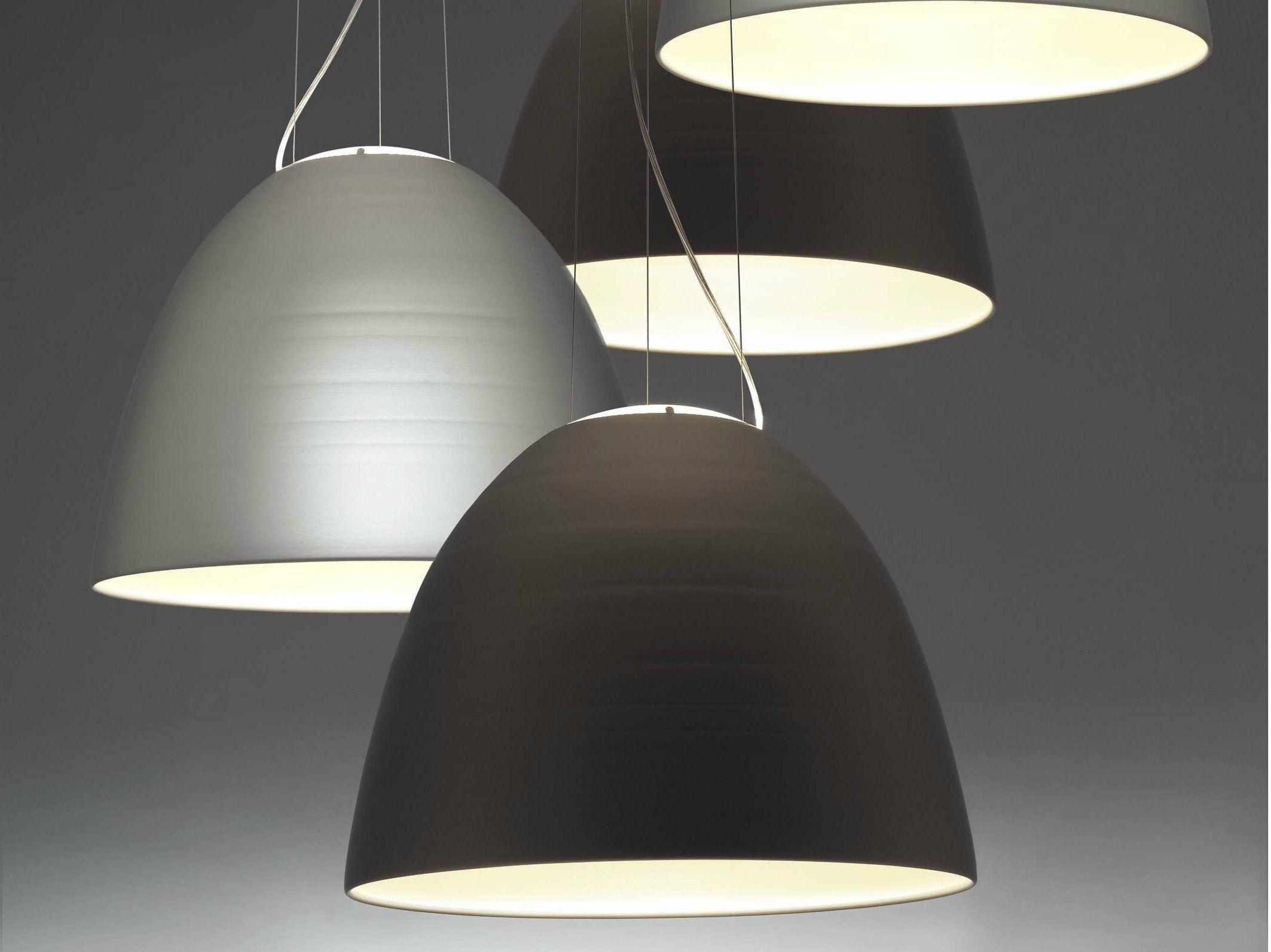 Nur pendant lamp nur collection by artemide design ernesto gismondi - Lampadari di design sospensione ...