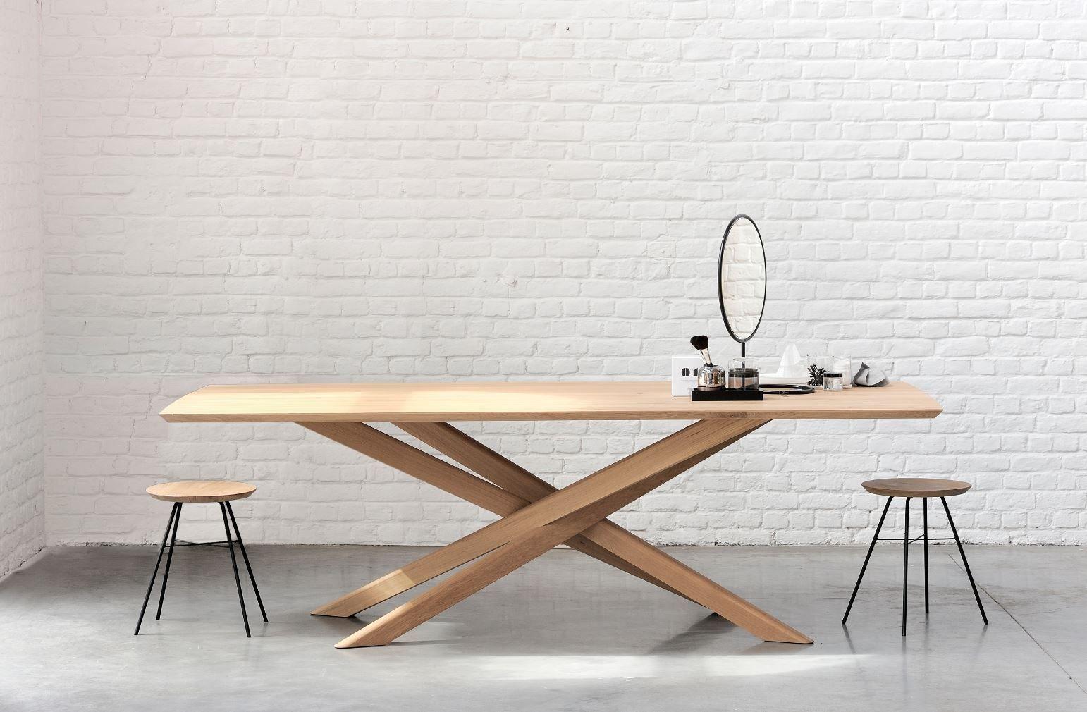 Oak Mikado Table By Ethnicraft