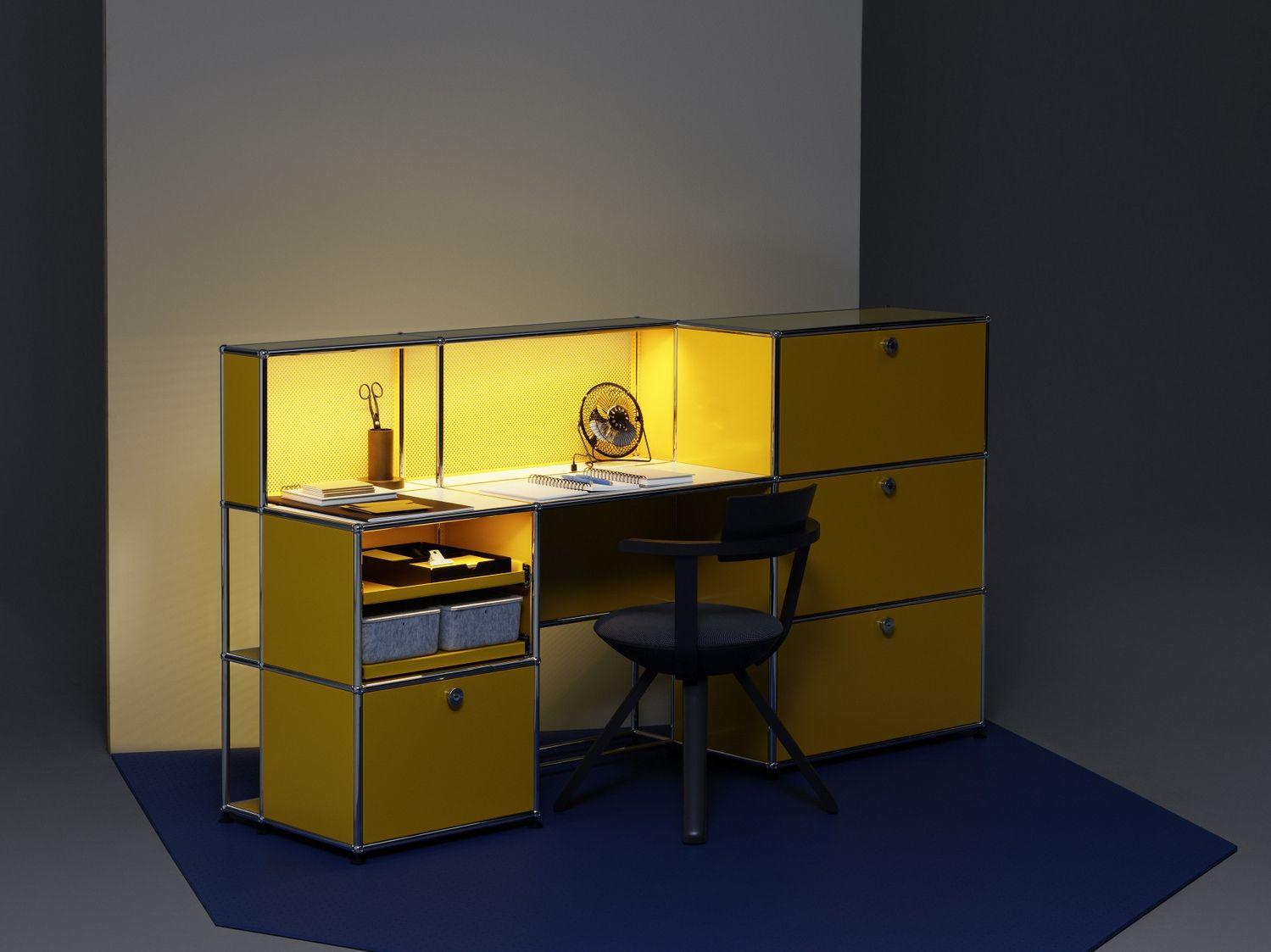usm haller e b ro schreibtisch kollektion usm haller e by usm. Black Bedroom Furniture Sets. Home Design Ideas