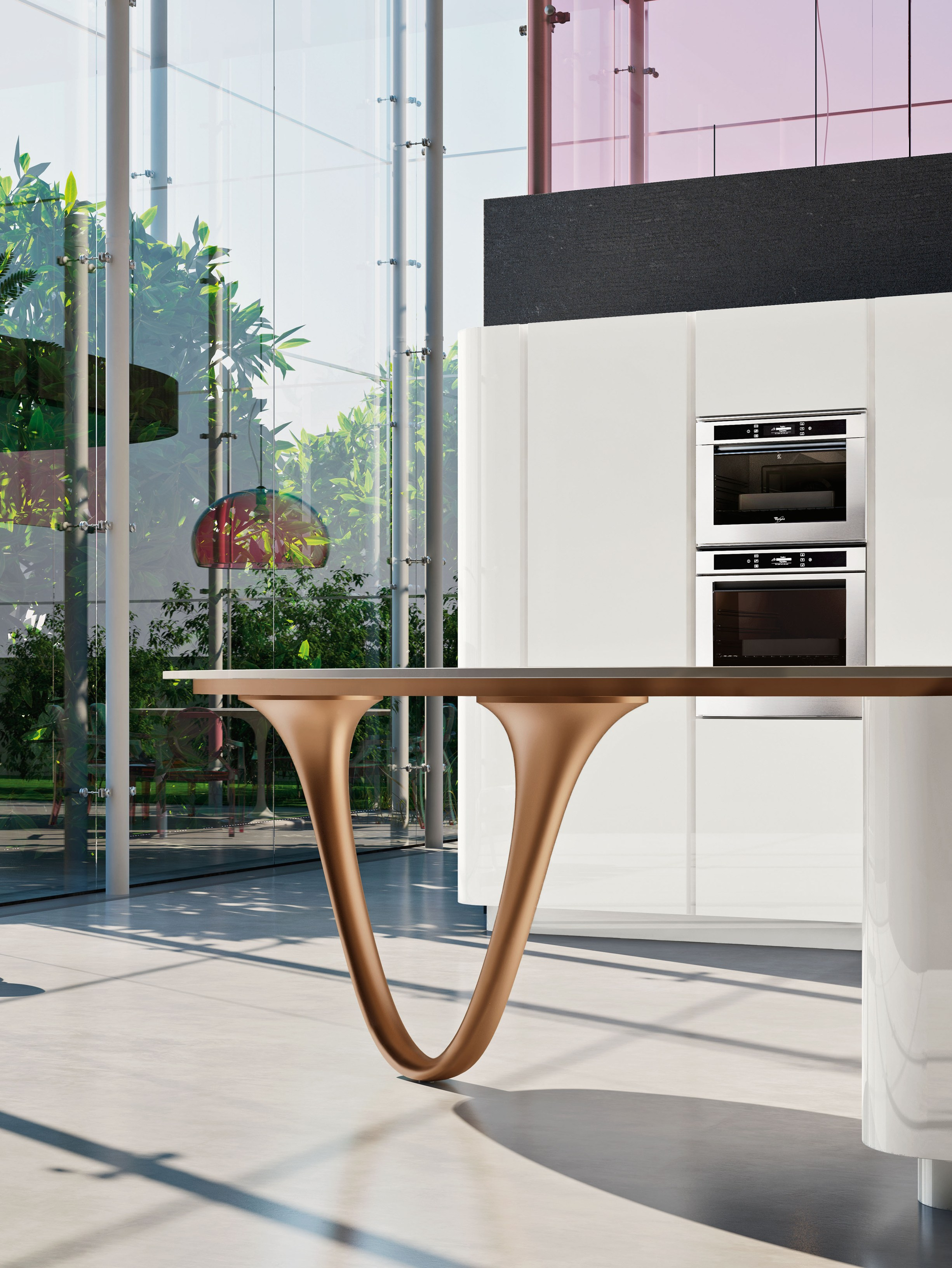 Schön OLA 25 | Küche Mit Halbinsel Kollektion ICONE By Snaidero Design  Pininfarina