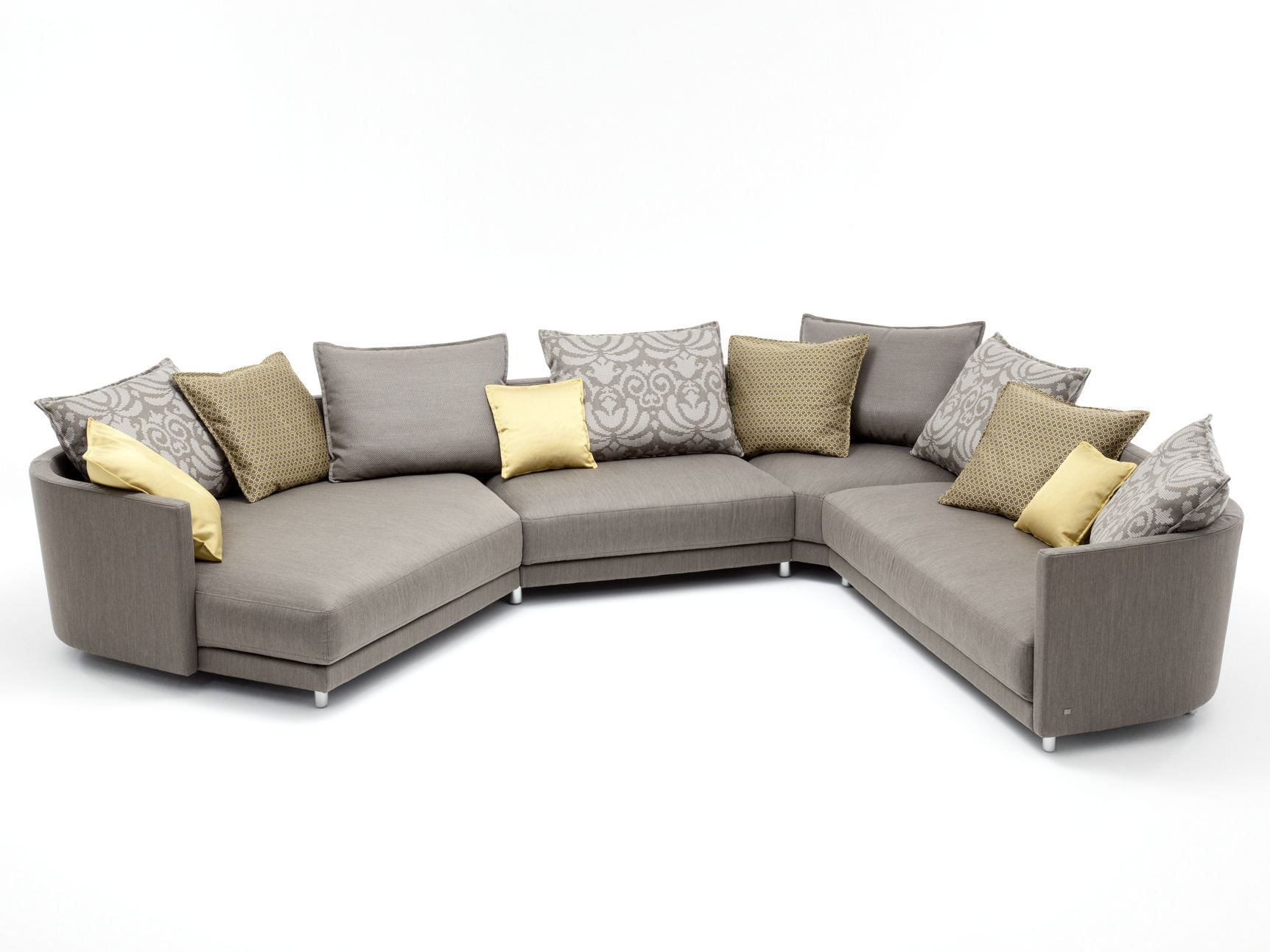 Ledersofa rolf benz  EGO | Corner sofa Ego Collection By Rolf Benz design Edgar Reuter