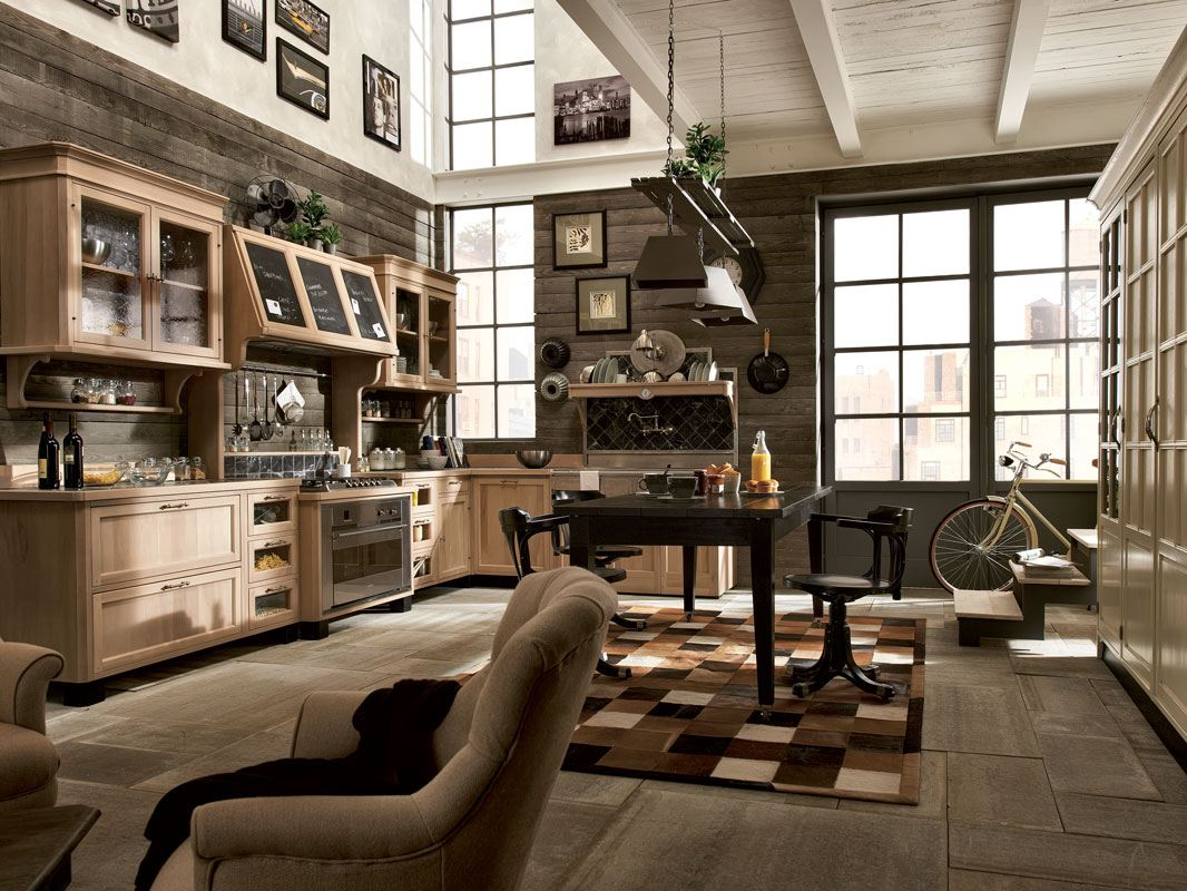 Cucine Old Style. Top With The Kitchen System Kyra You Can Create ...