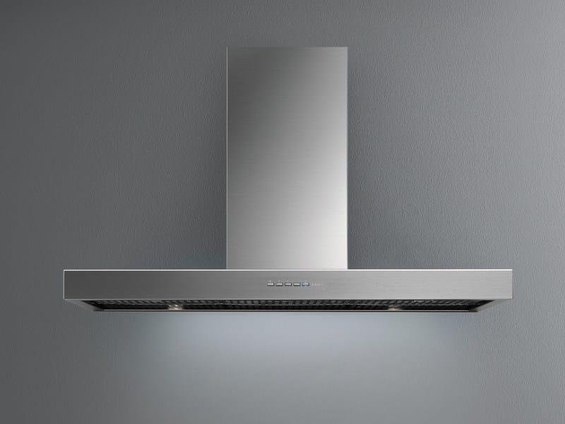 Cappa in acciaio inox e vetro a parete ASTRA VETRO By Falmec