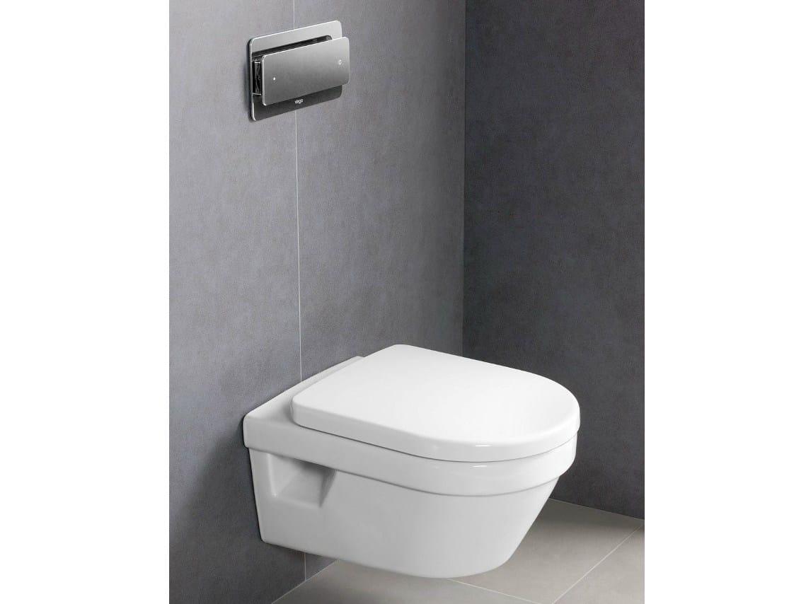 Wundervoll Wall-hung rimless toilet ARCHITECTURA DirectFlush By Villeroy & Boch QN93