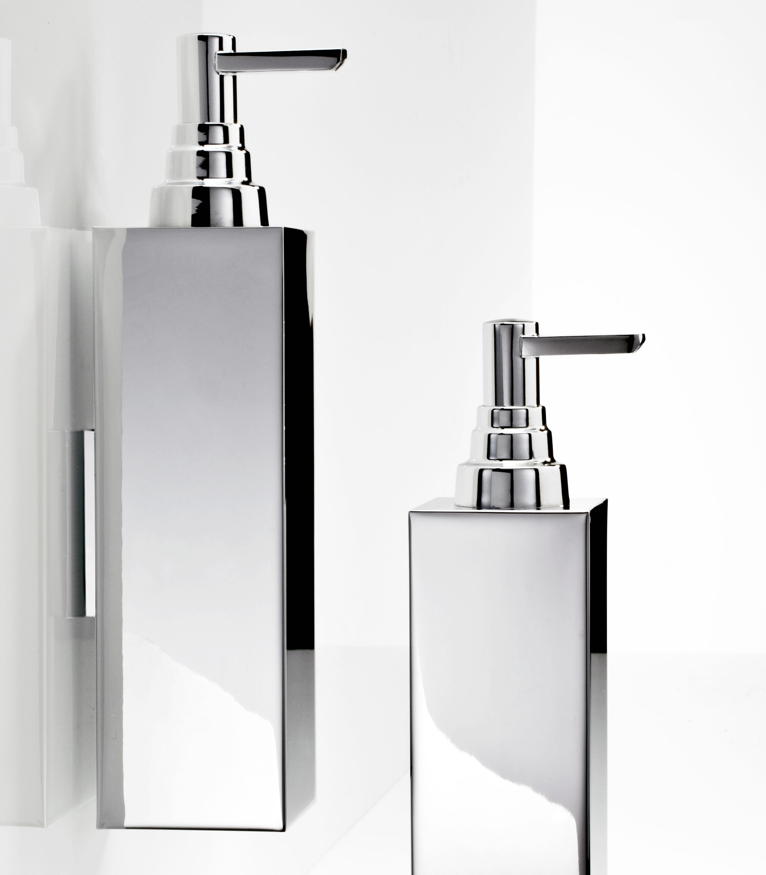 Chrome Plated Chrome plated Chrome plated Liquid soap dispensers