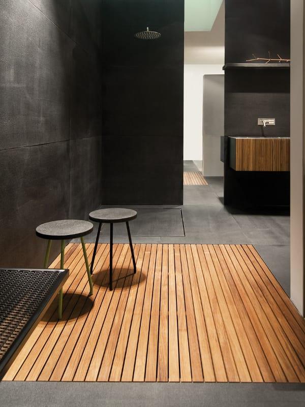 Piatto doccia in teak by moab80 for Moab salle de bain