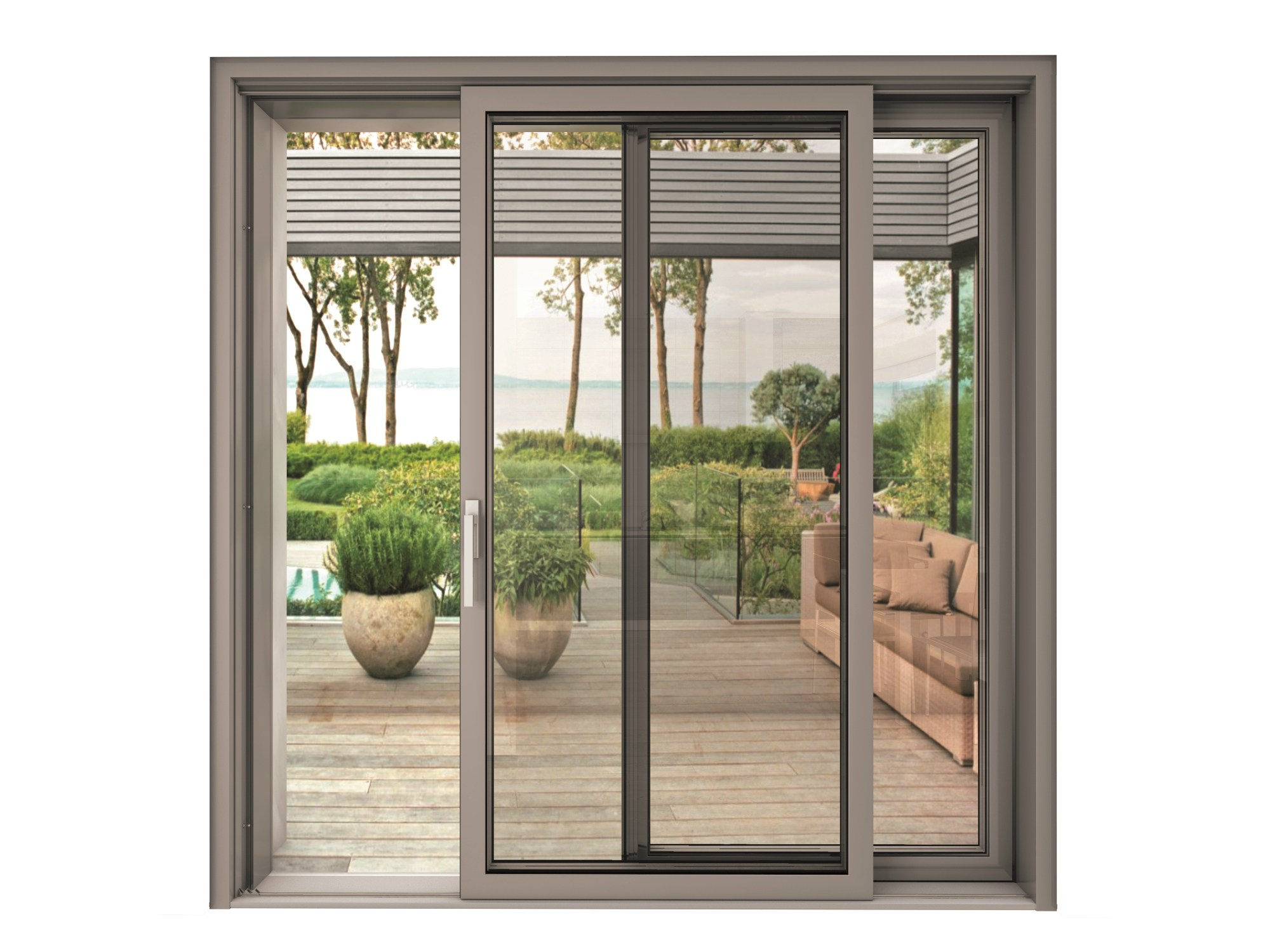 Finestre scorrevoli con triplo vetro | Archiproducts
