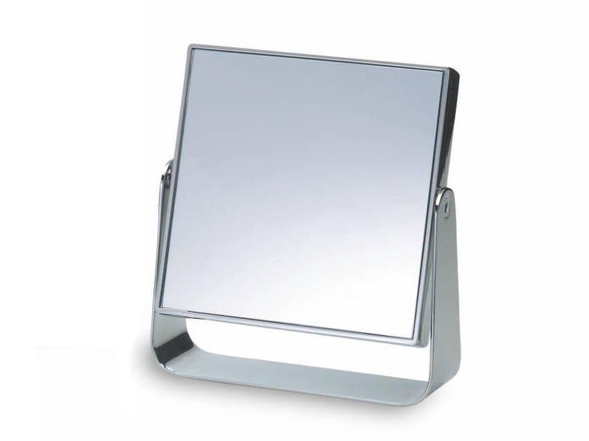 Specchio ingranditore quadrato da appoggio spt 55 by decor walther - Specchio ingranditore ikea ...
