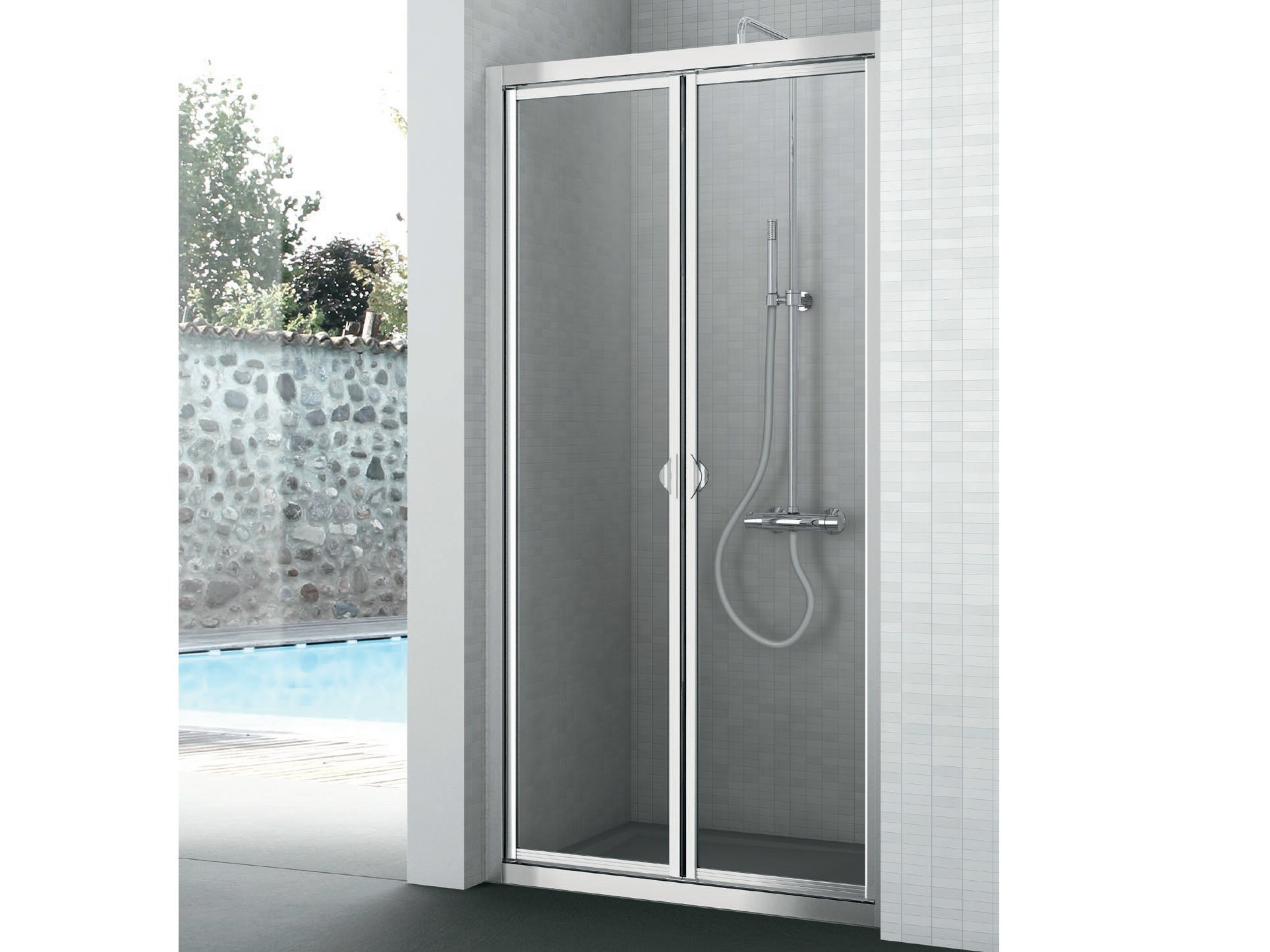 LINE   Niche shower cabin By Gruppo Geromin