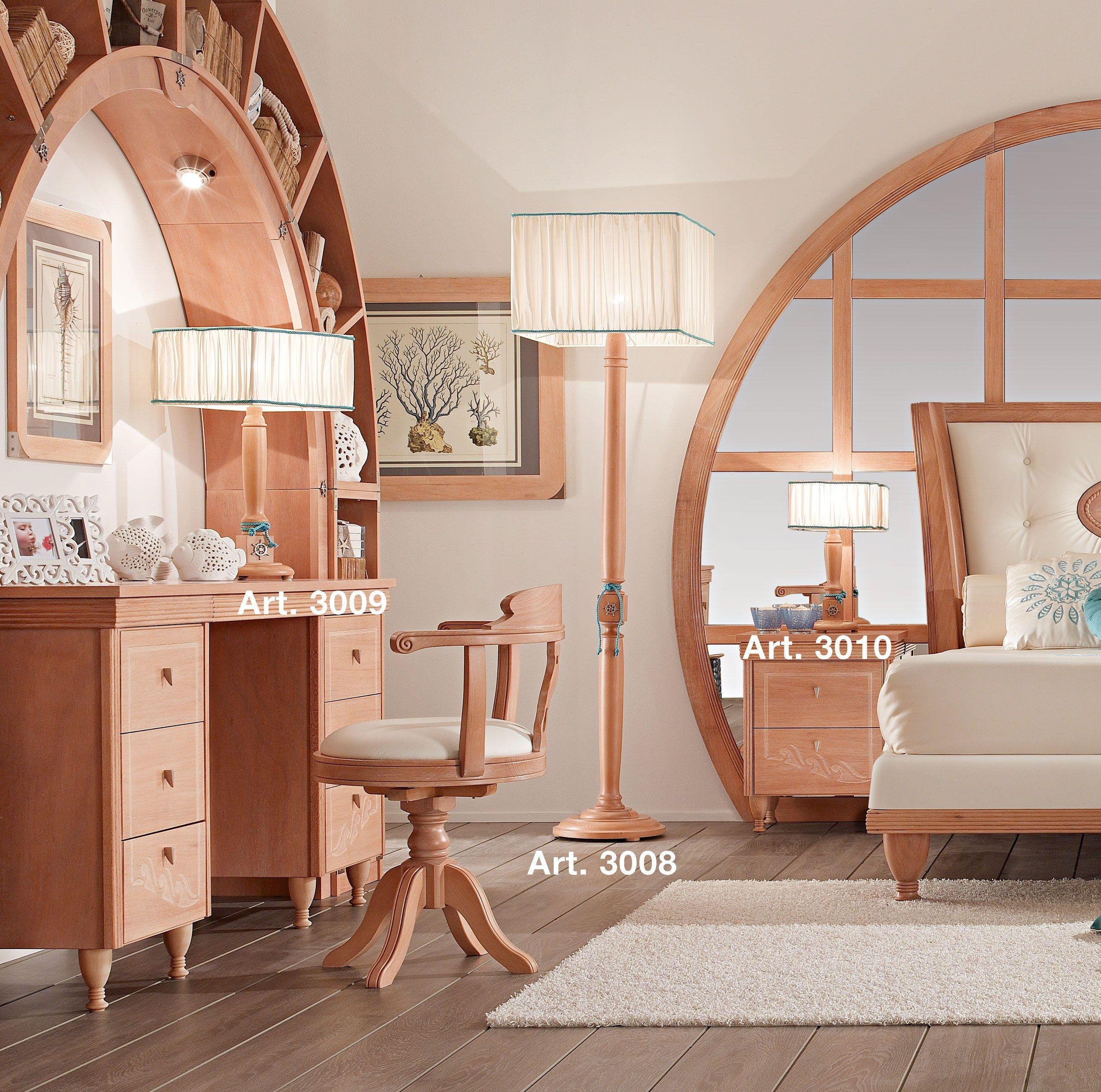 da scrivania a luce indiretta in legno in stile classico per bambini ...