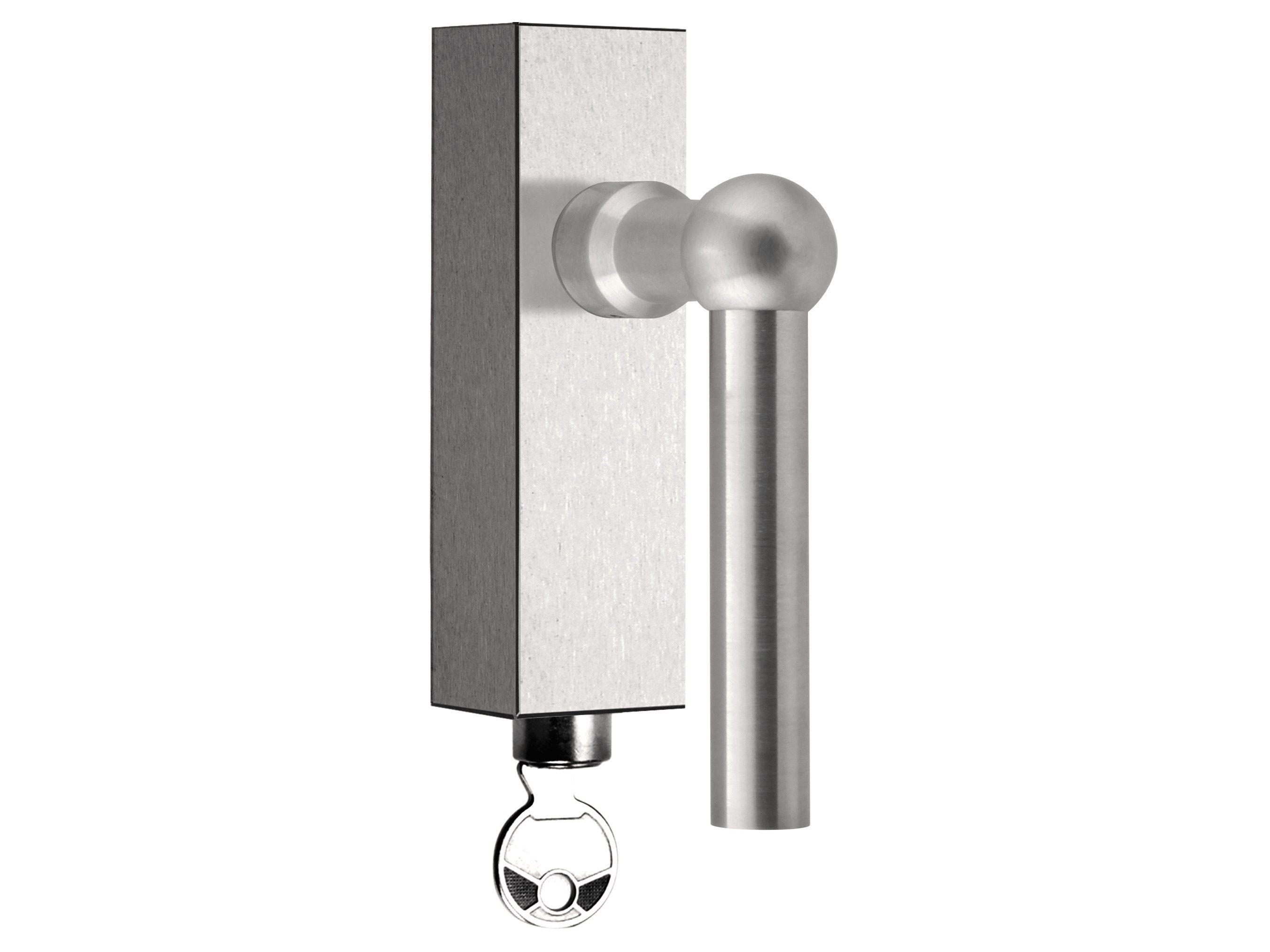Bathroom Window Handle brushed steel window handles   archiproducts