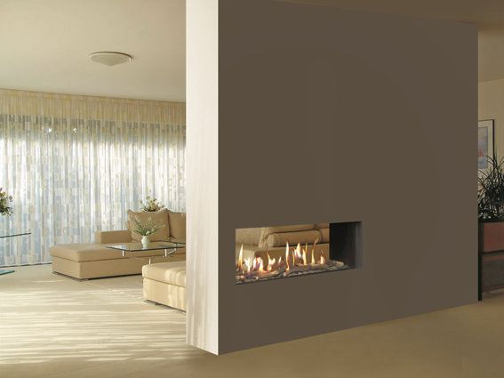 Venezia Double Sided Fireplace Insert By Italkero