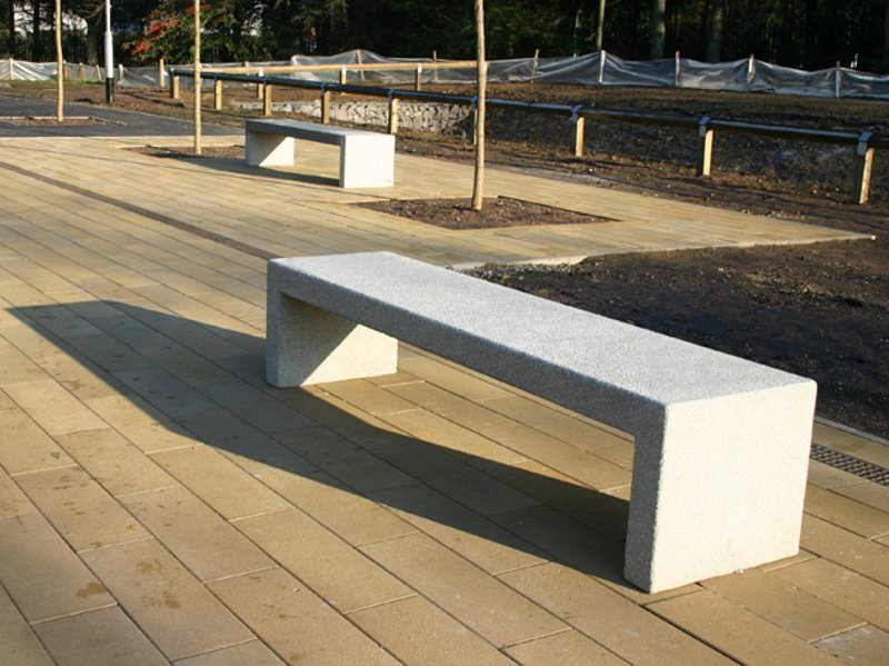Bloc Concrete Bench By Factory Furniture