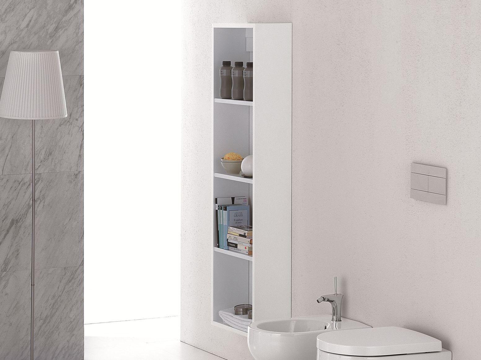 Clear mobile bagno a colonna by olympia ceramica - Mobili a colonna per bagno ...