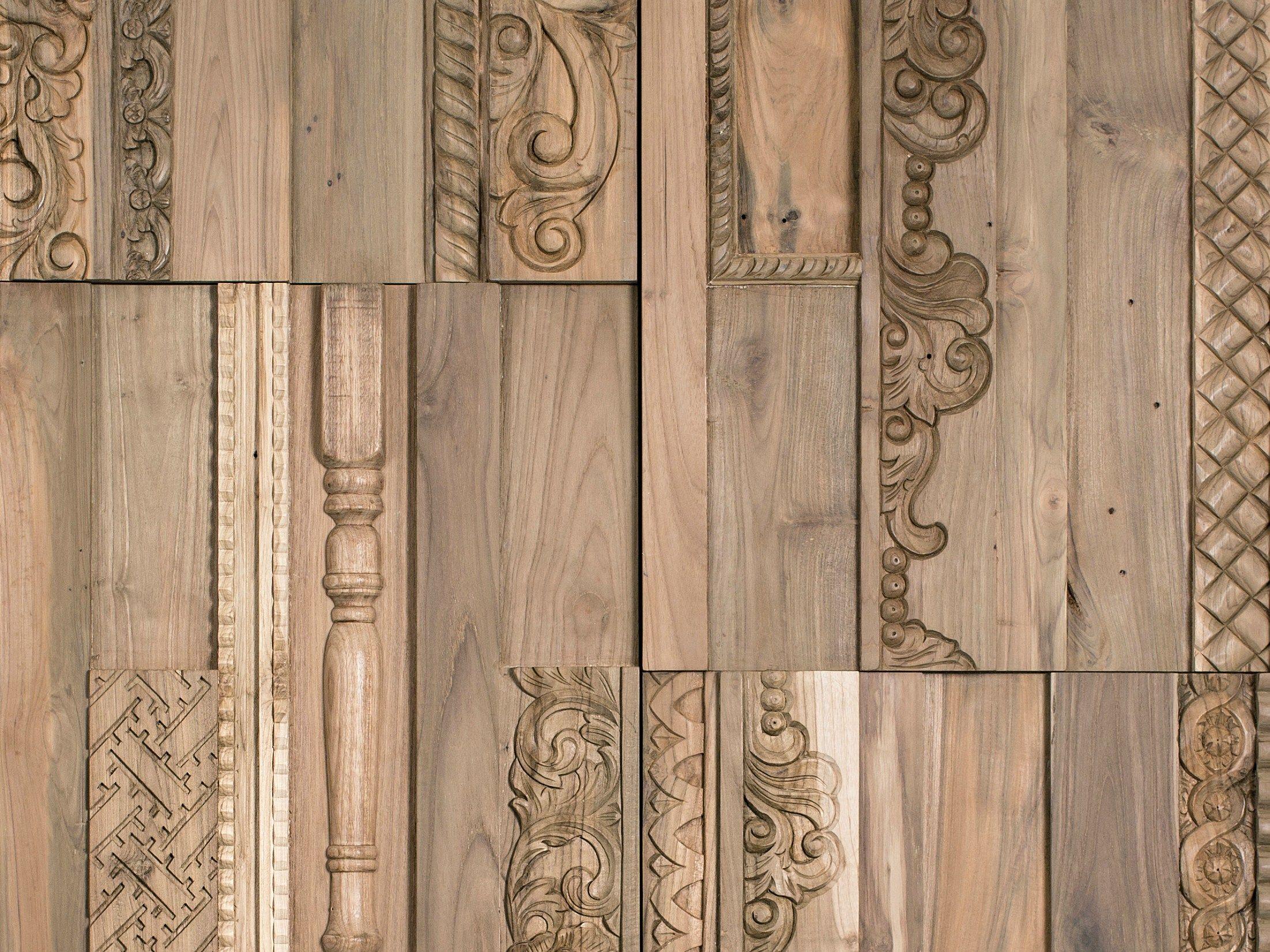Free in legno per interni gallon by wonderwall studios with in legno per pareti - Decorazioni in legno per pareti ...