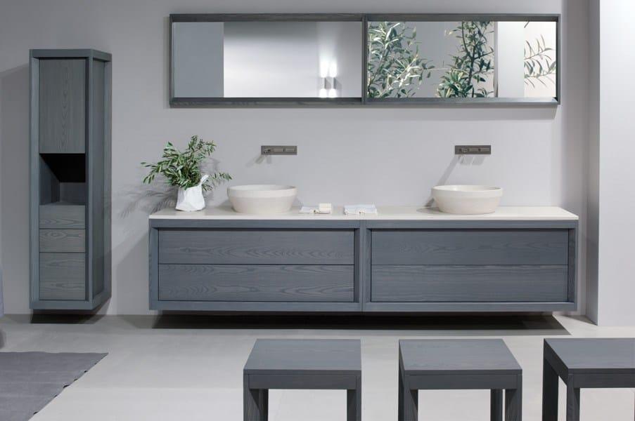Tray double vanity unit by gd arredamenti design enzo berti for Berti arredamenti