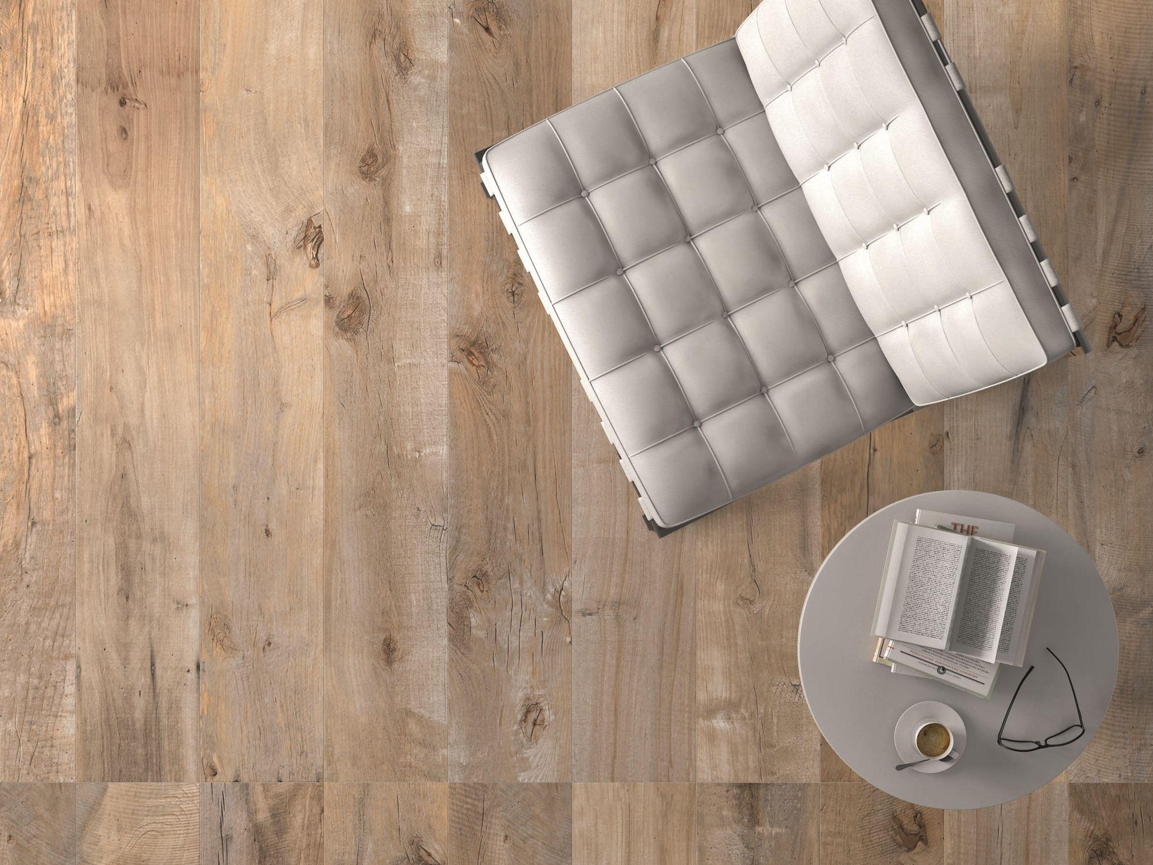 Wand und bodenbelag aus feinsteinzeug dakota by flaviker for Carrelage 30x30 beige