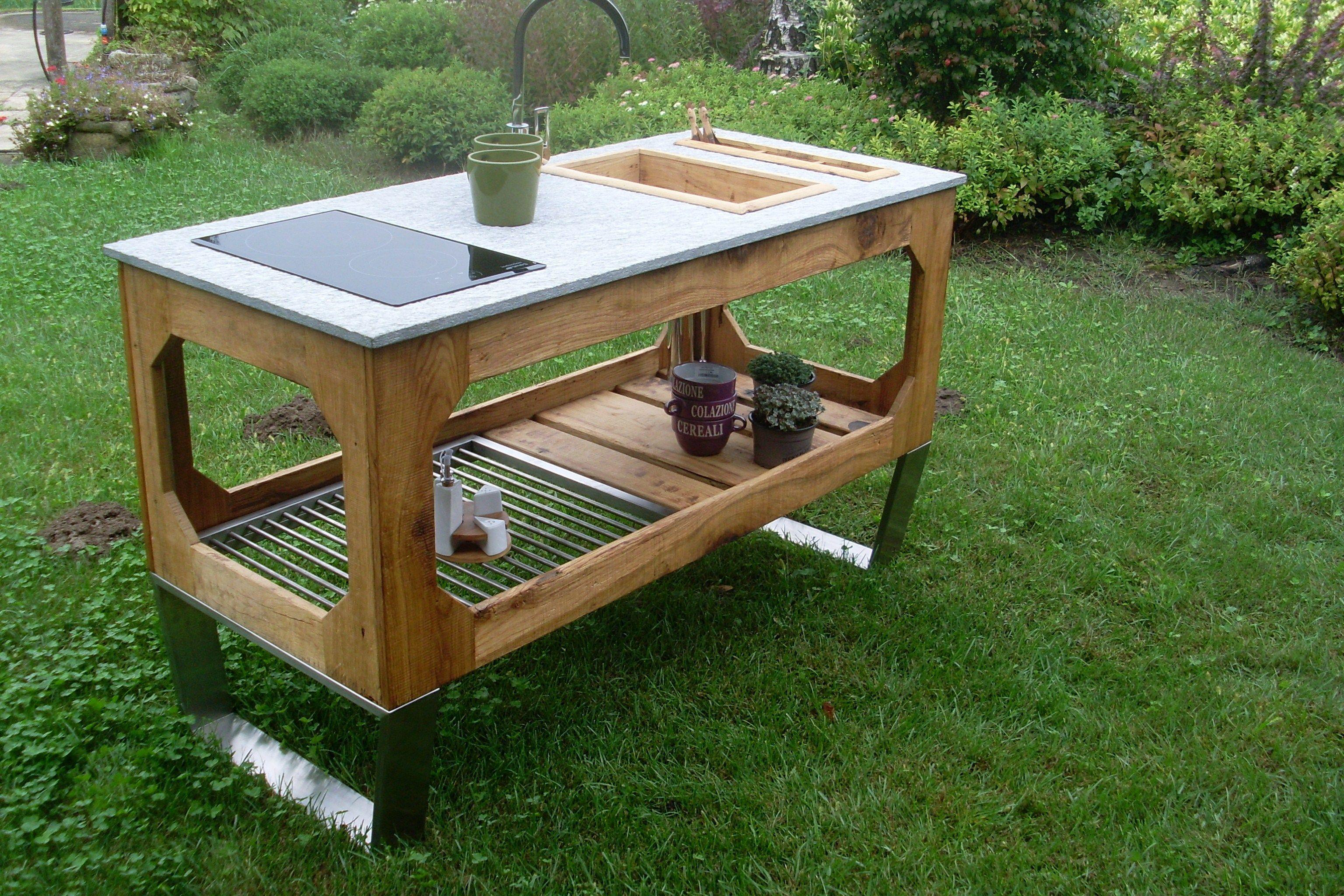 Garten Elektro- Outdoorküche WINDOW By Lgtek Outdoor