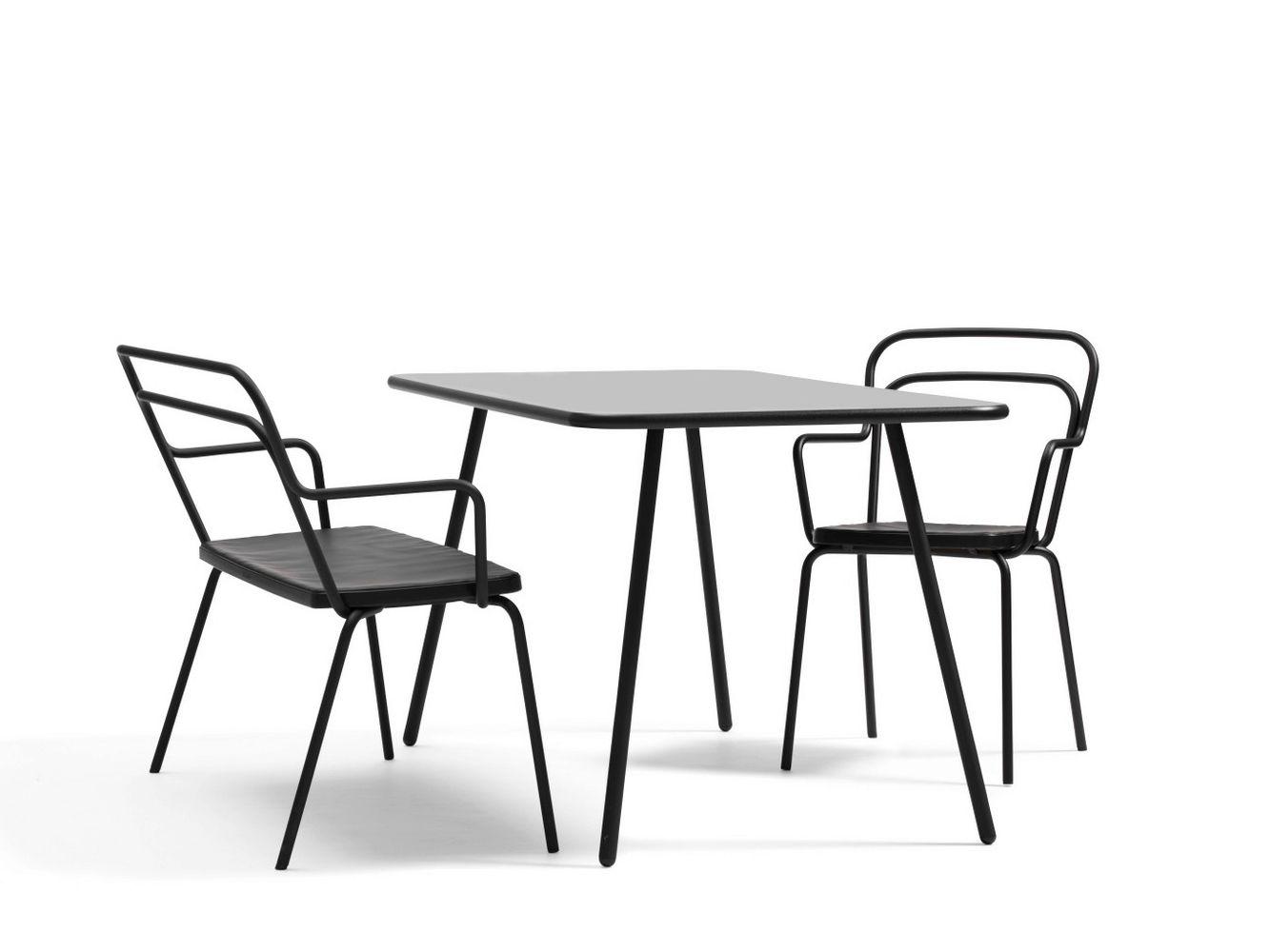 Kaffe high garden side table by bl station design for Outdoor furniture revit