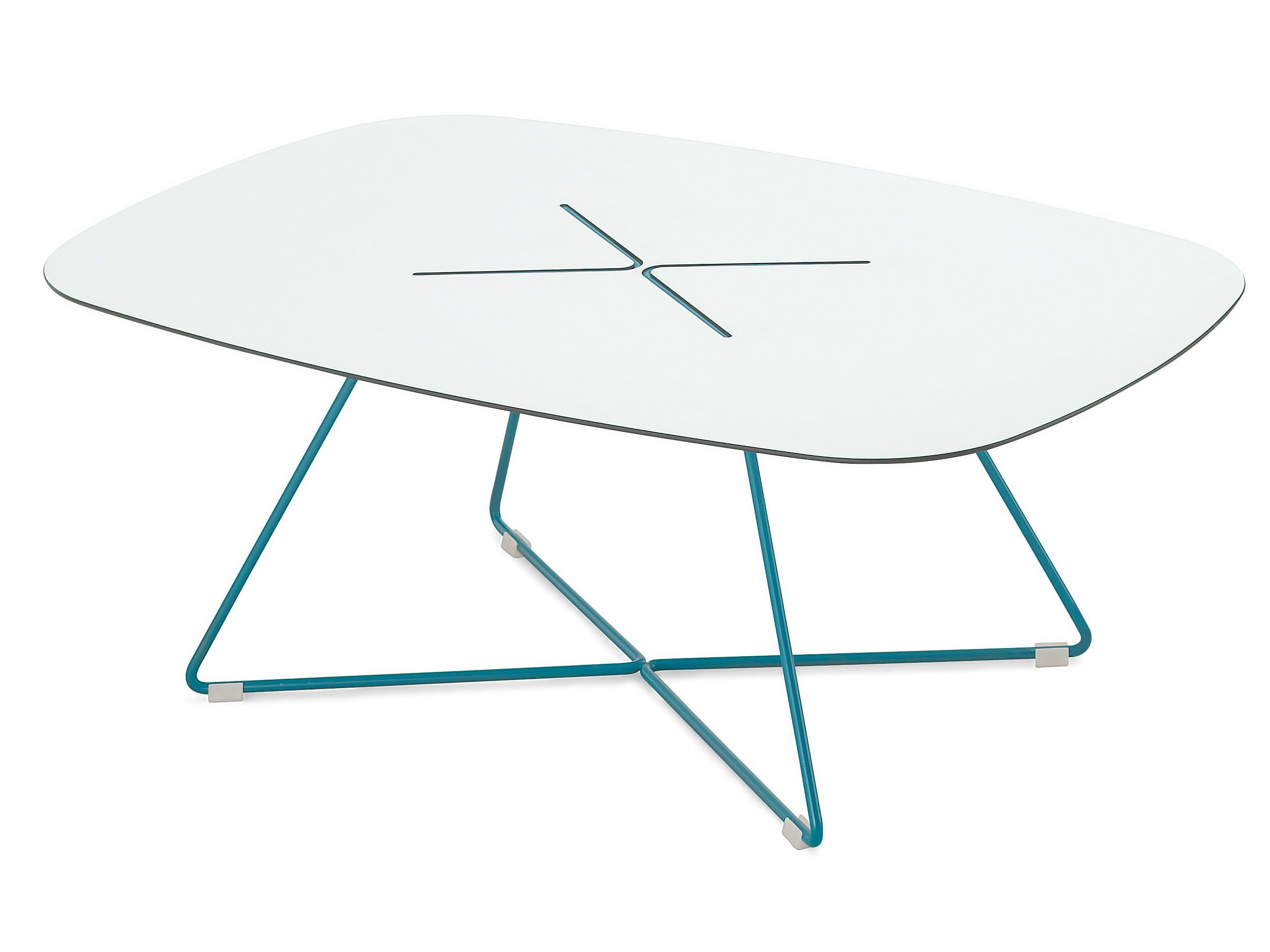 Rectangular coffee table OCCASIONAL TABLE LTR By Vitra design