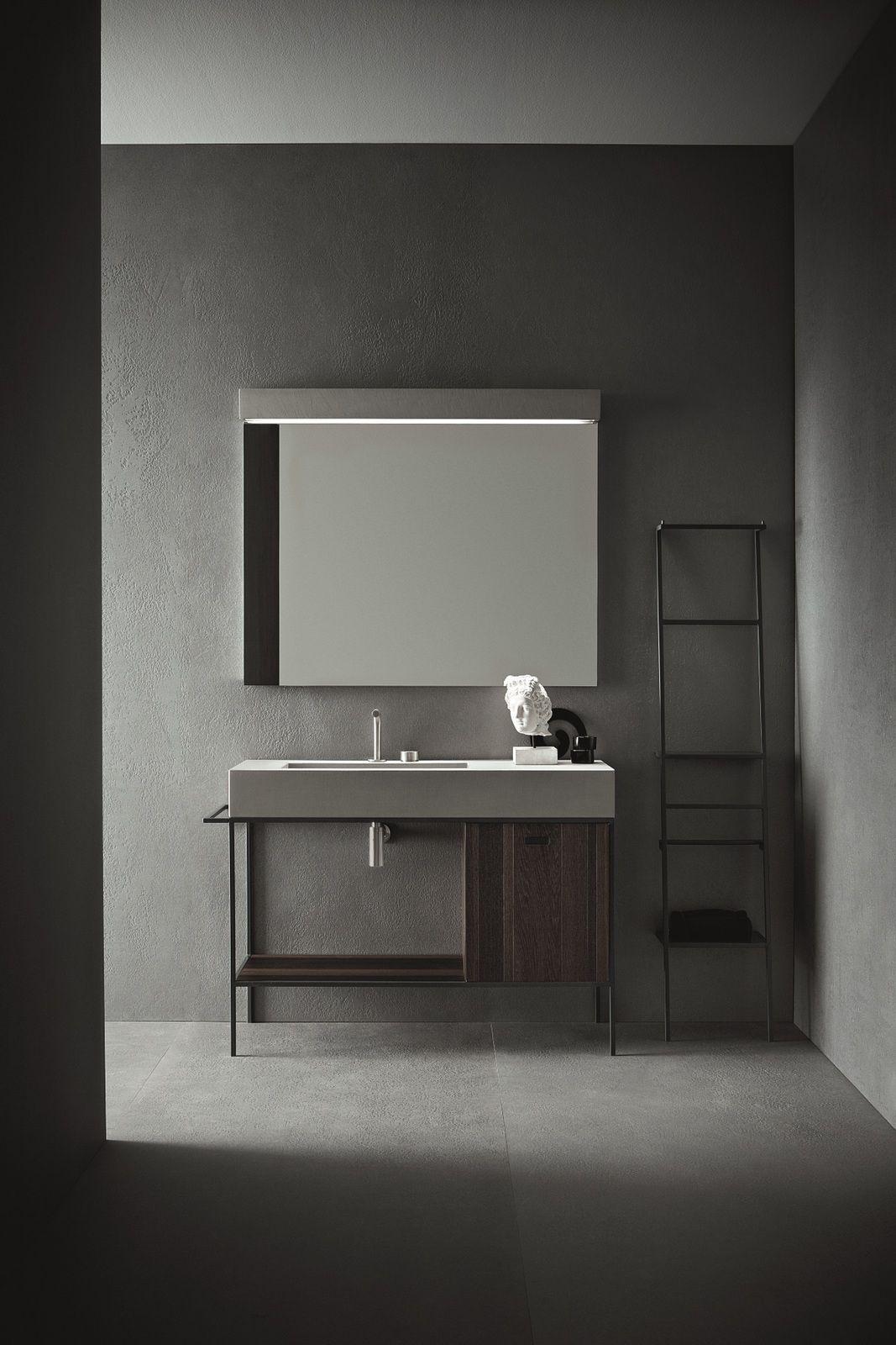 Arredo bagno completo CRAFT - COMPOSIZIONE N03 by NOVELLO design ...