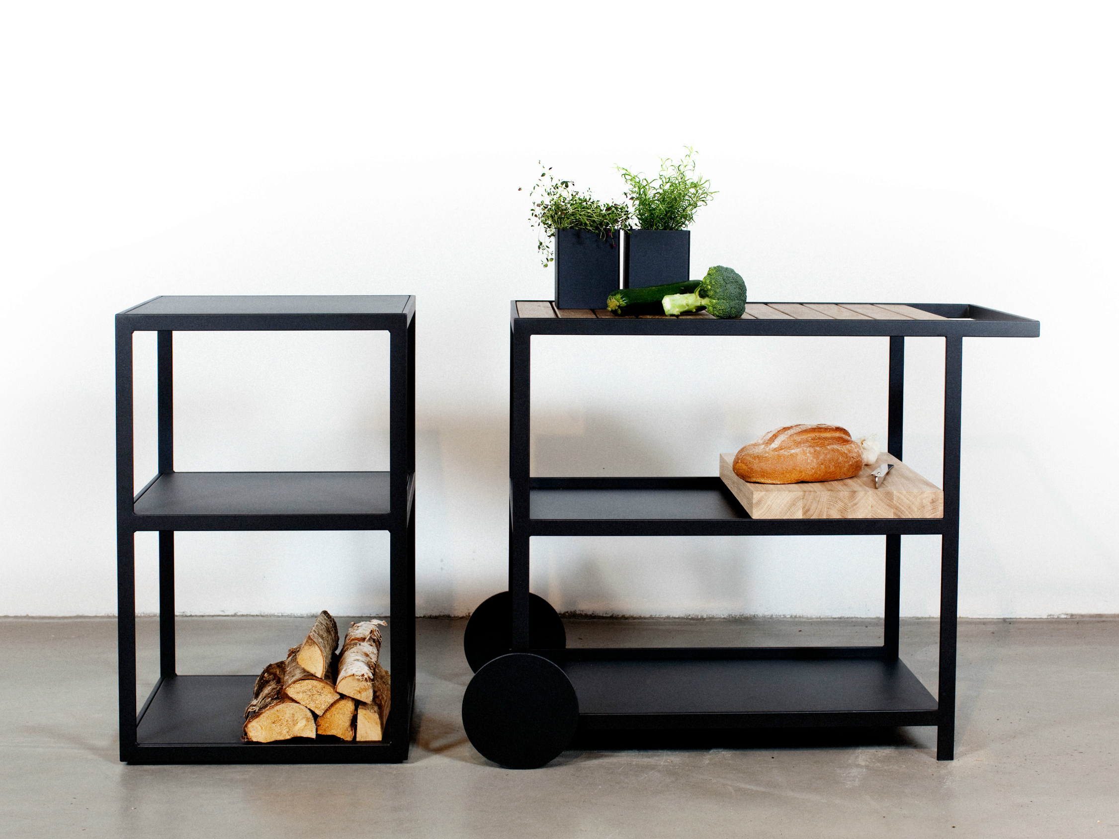 Carrello Design. Beautiful Carrelli Acciaio Cucina Gallery Ideas ...