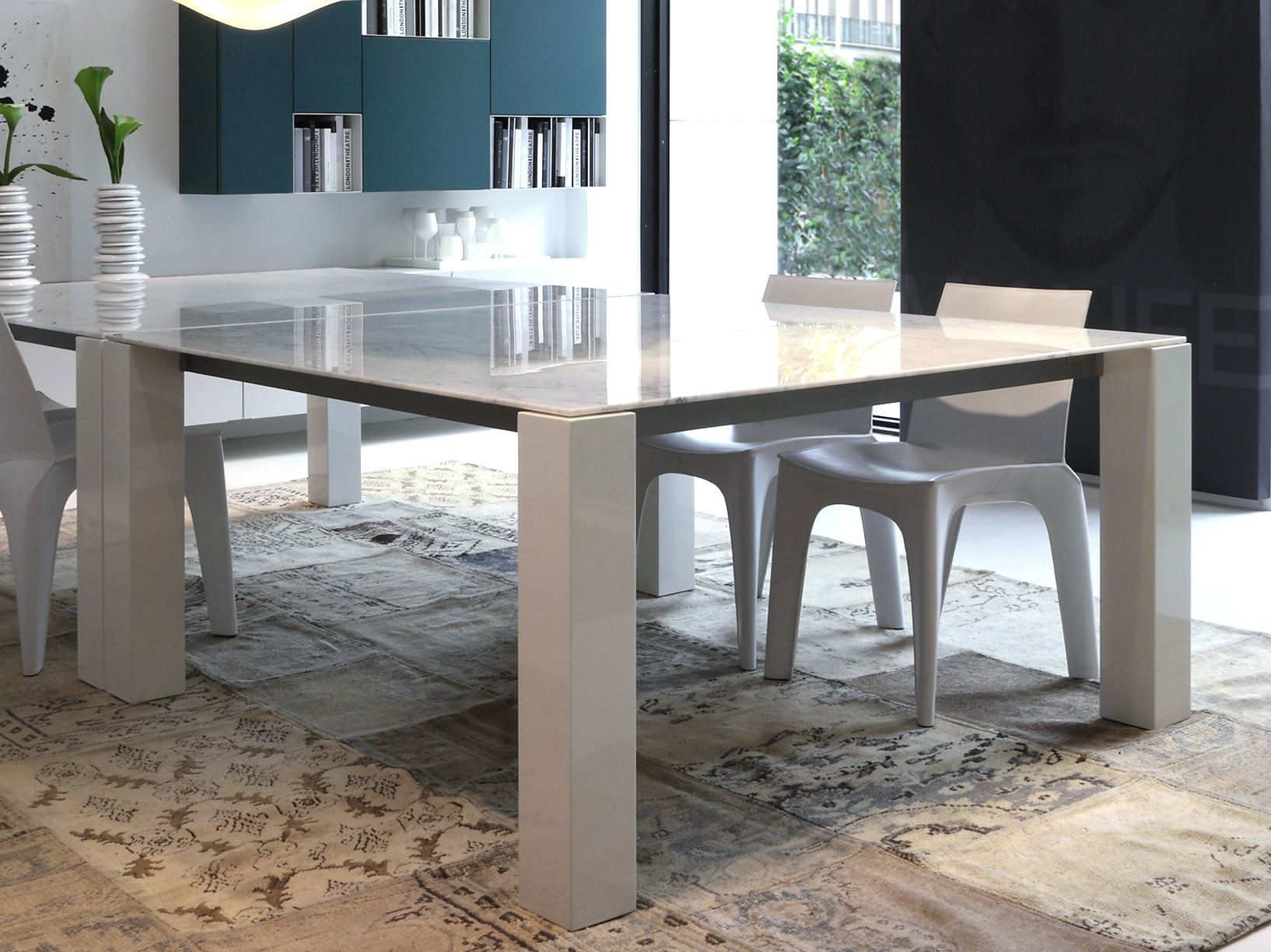 CONCORDE | Tavolo rettangolare By poliform design Emmanuel Gallina