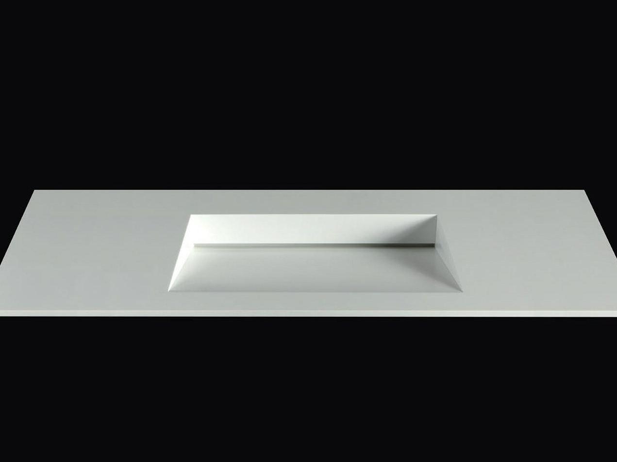 lavabo rettangolare in corian® folio by boffi design neunzig° design - Lavabo Bagno In Corian Prezzi