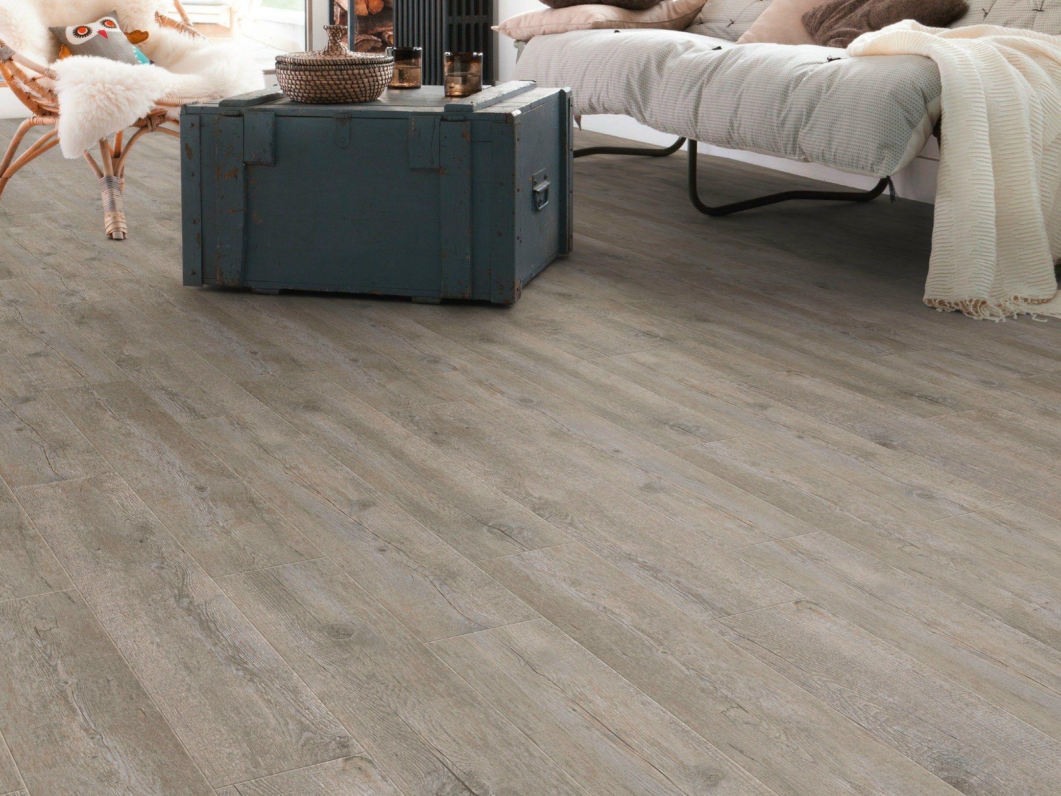 Anti Slip Self Adhesive Floor Tiles With Wood Effect Senso Lock Plus By Gerflor