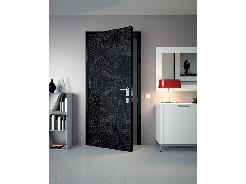 Sensunels door panel by dibi porte blindate design karim for Dibi porte blindate