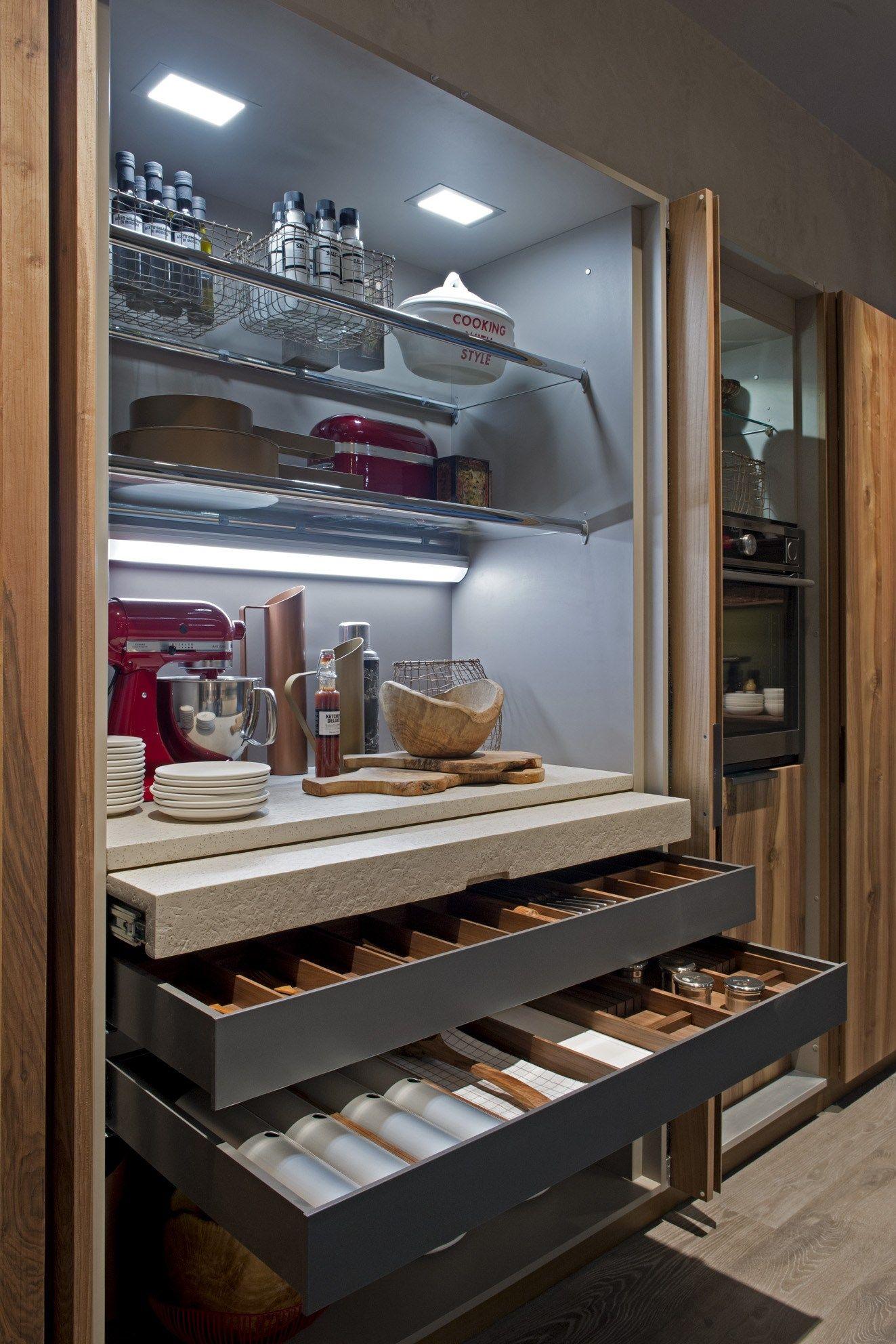 Cocina Integral Con Isla Filoantis By Euromobil Dise O