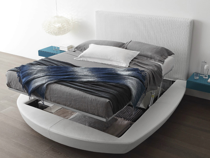Round storage bed zero size by presotto design pierangelo - Dimensioni letto matrimoniale ikea ...