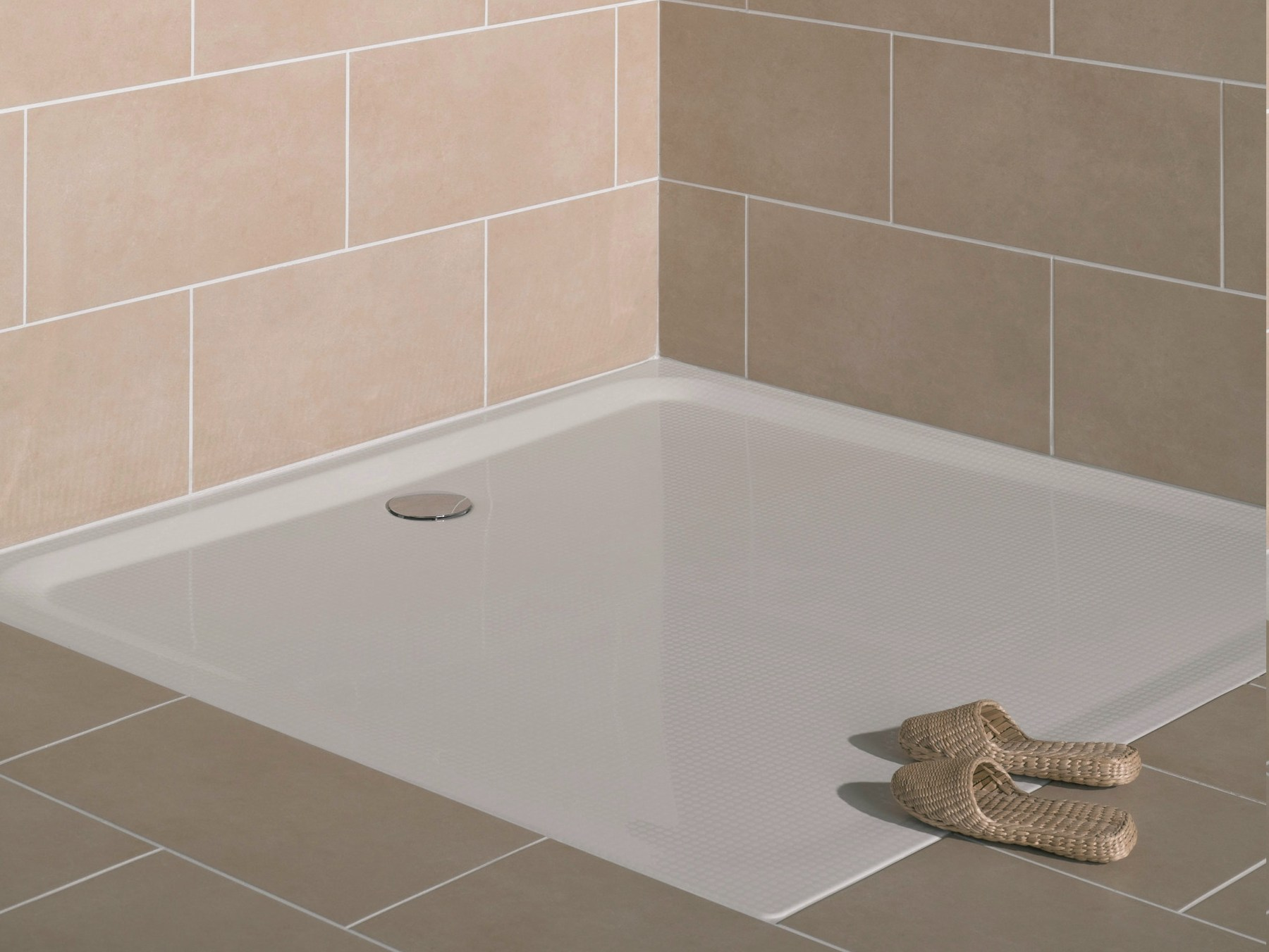 superflach square shower tray by bette. Black Bedroom Furniture Sets. Home Design Ideas