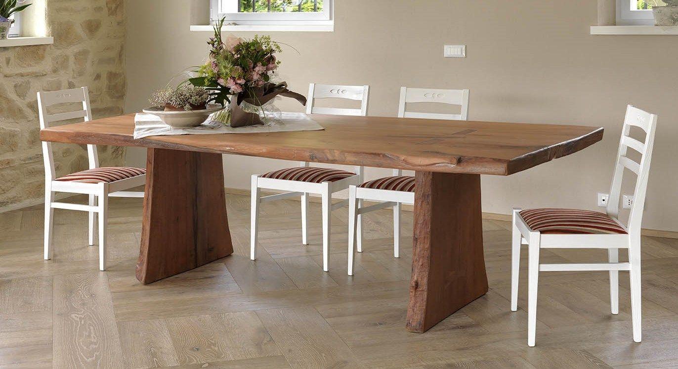 Tavolo da pranzo legno tavoli moderni in cristallo - Epierre