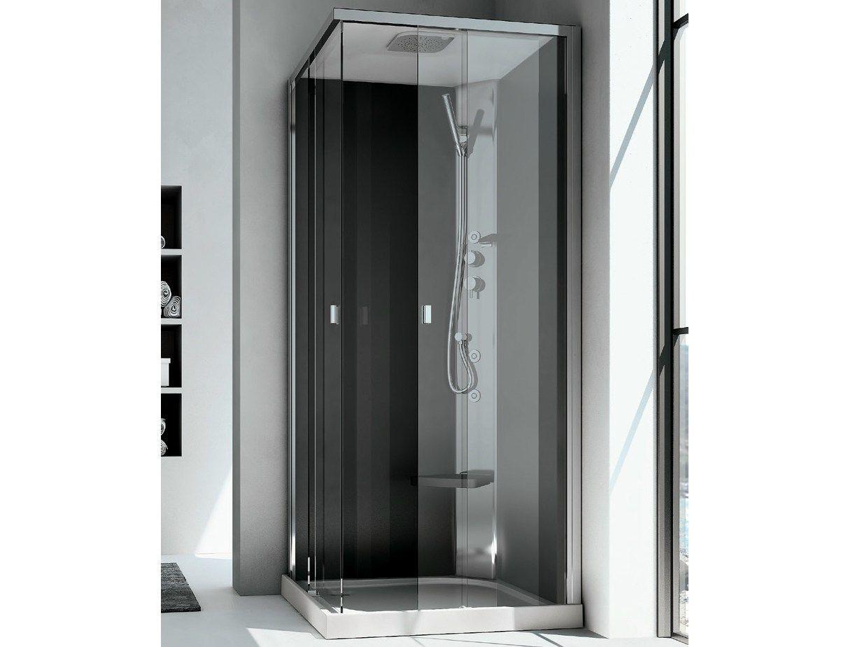Cabina box doccia multifunzione sound idromassaggio integra