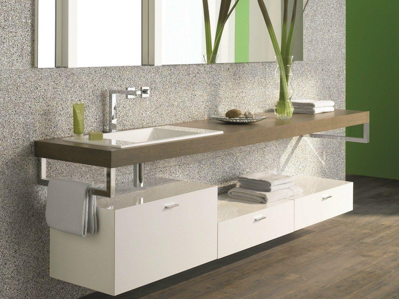 Meuble pour salle de bain suspendu avec tiroirs betteroom for Bette salle de bain