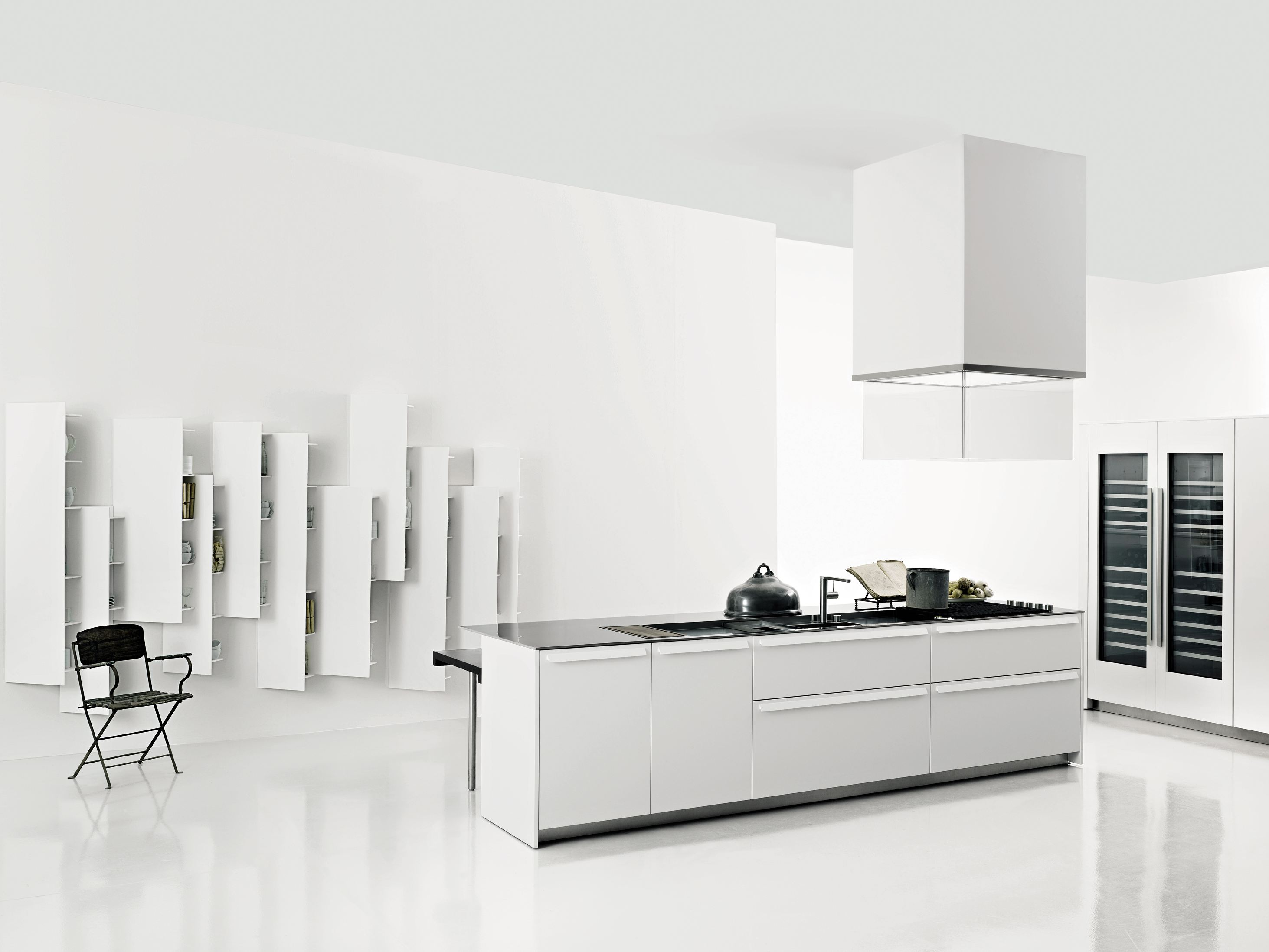 Kitchen with island SALINAS By Boffi design Patricia Urquiola
